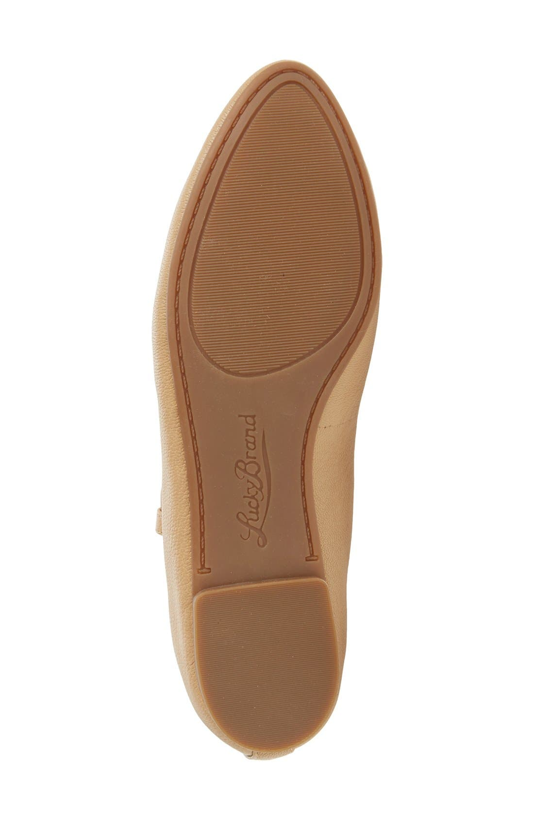 'Aviee' Lace-Up Flat,                             Alternate thumbnail 16, color,