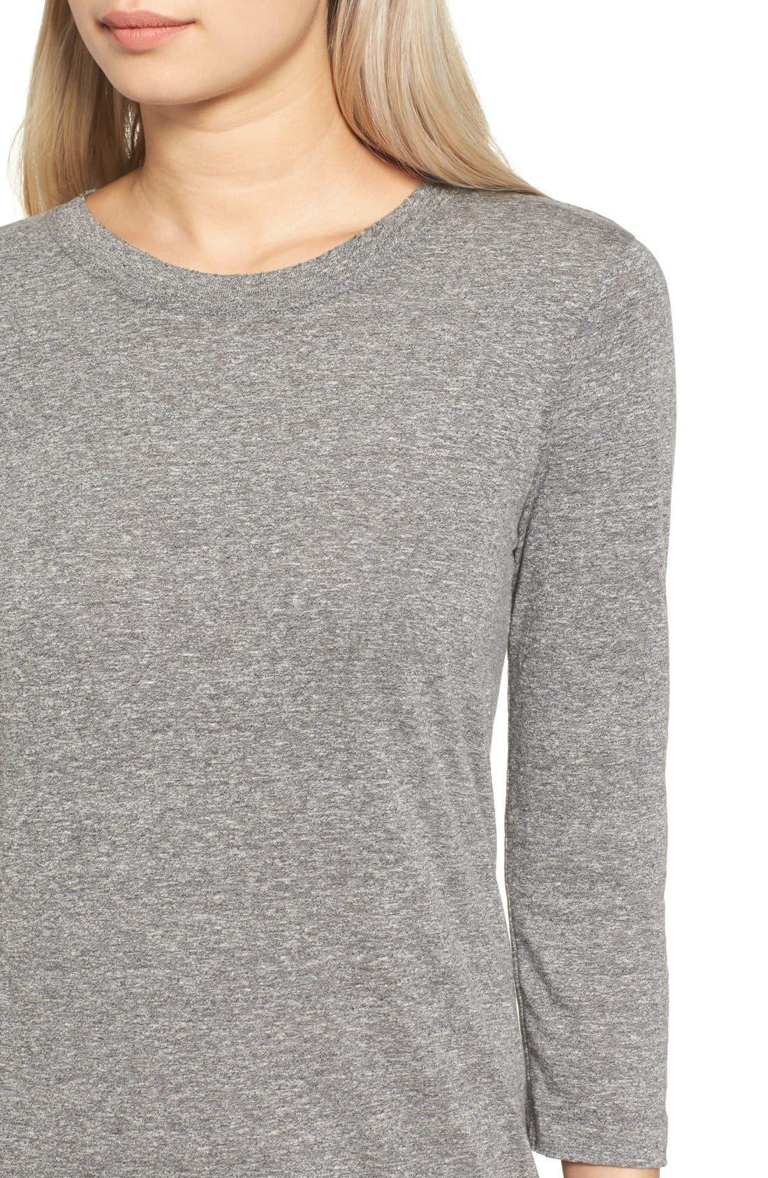 T-Shirt Dress,                             Alternate thumbnail 7, color,                             099