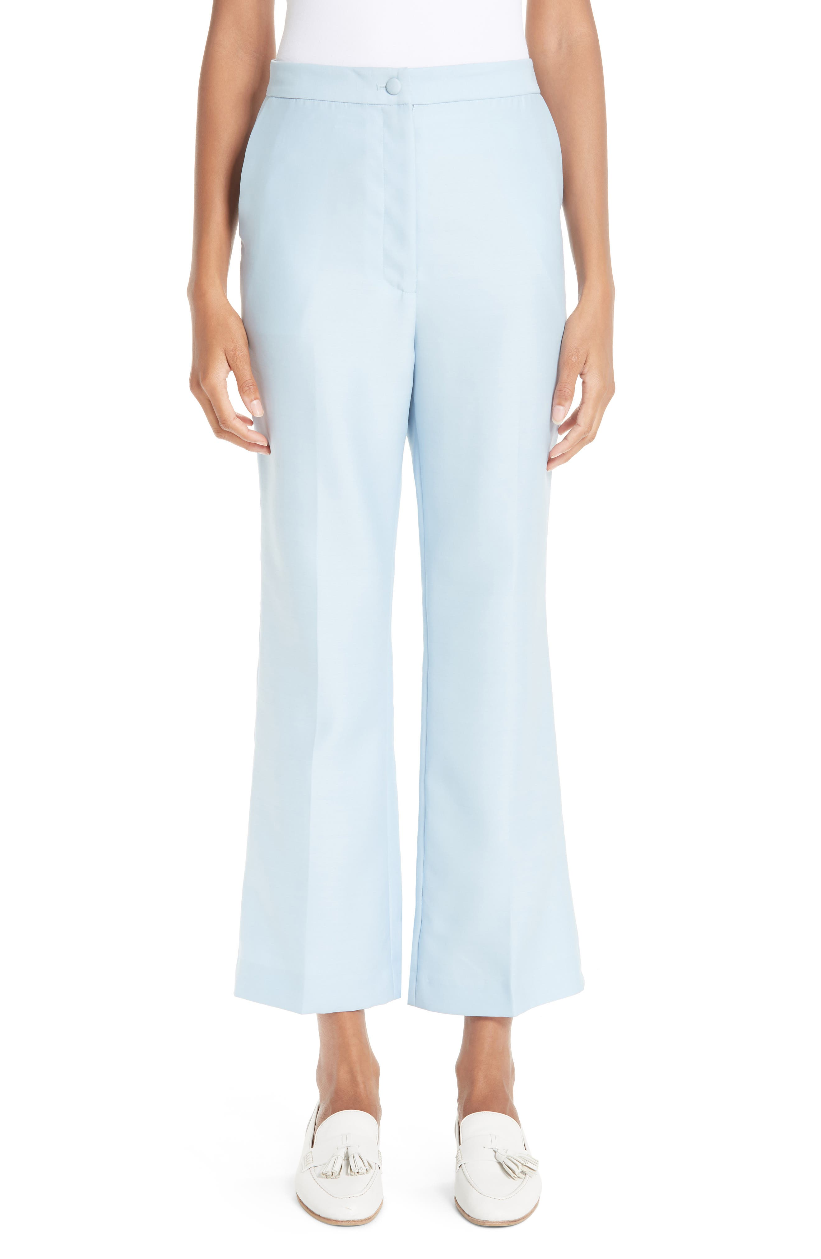Partow High Waist Crop Flare Pants
