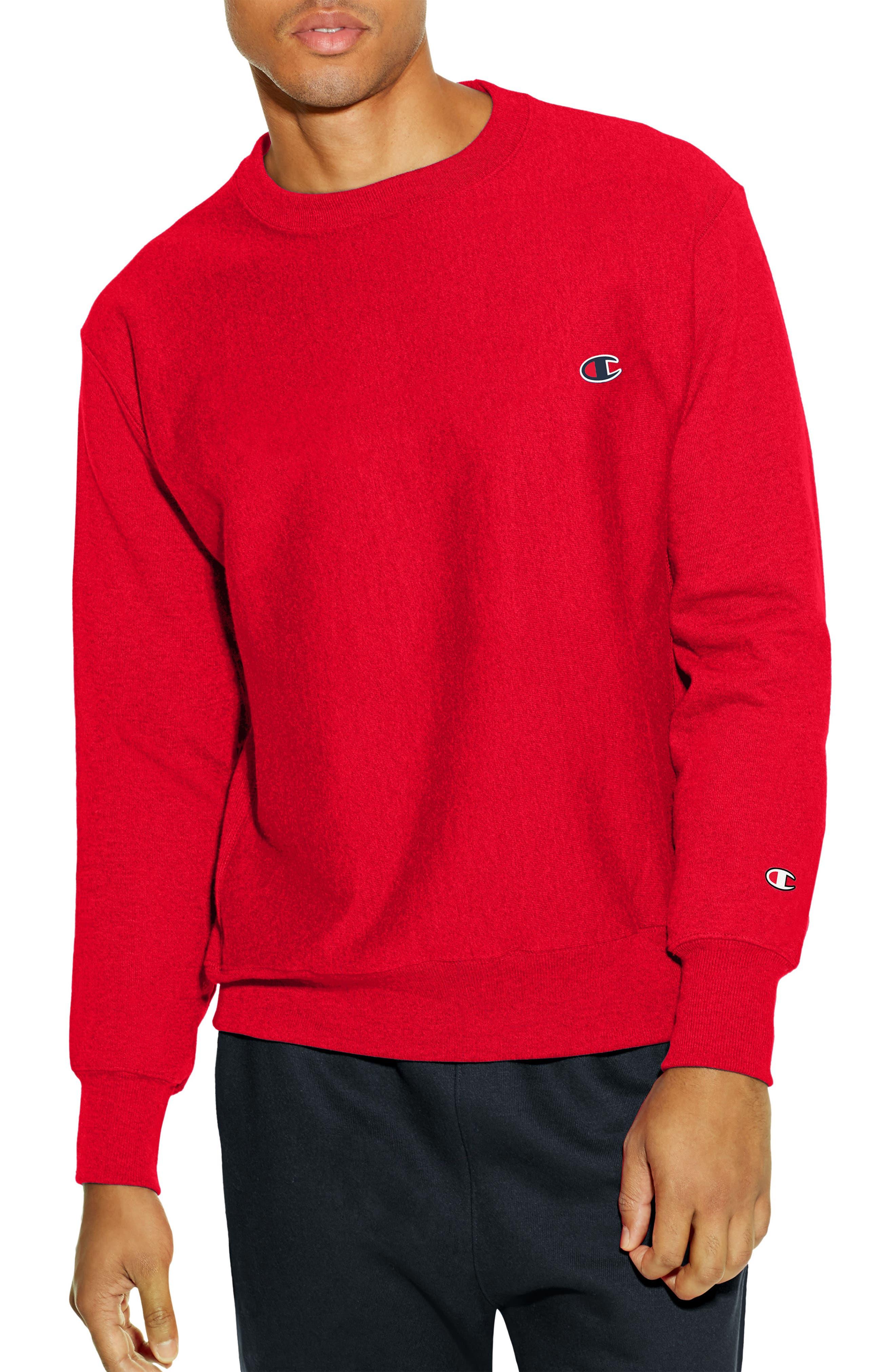 Reverse Weave Sweatshirt,                             Main thumbnail 7, color,