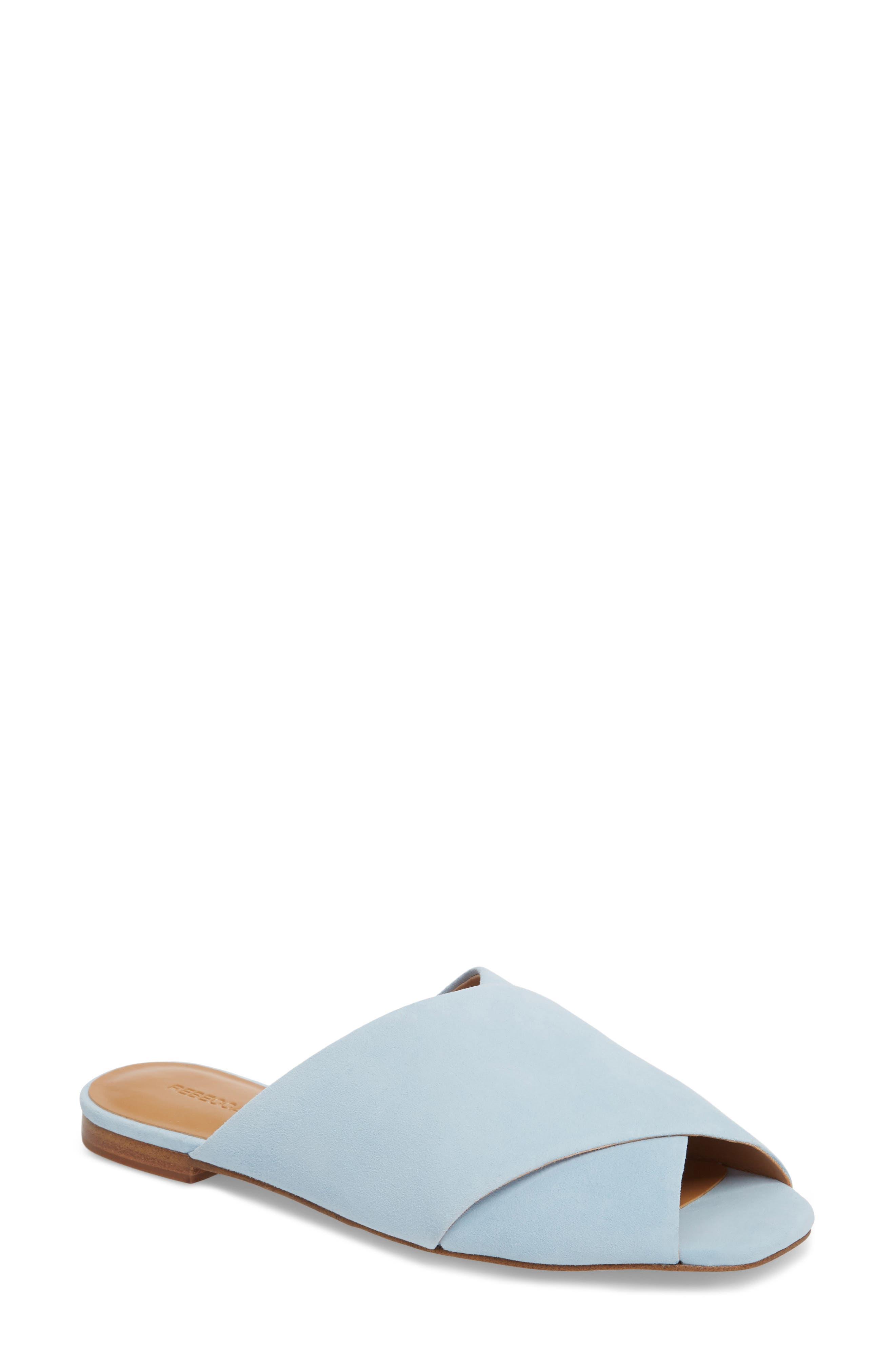 Rebecca Minkoff Anden Slide Sandal- Blue