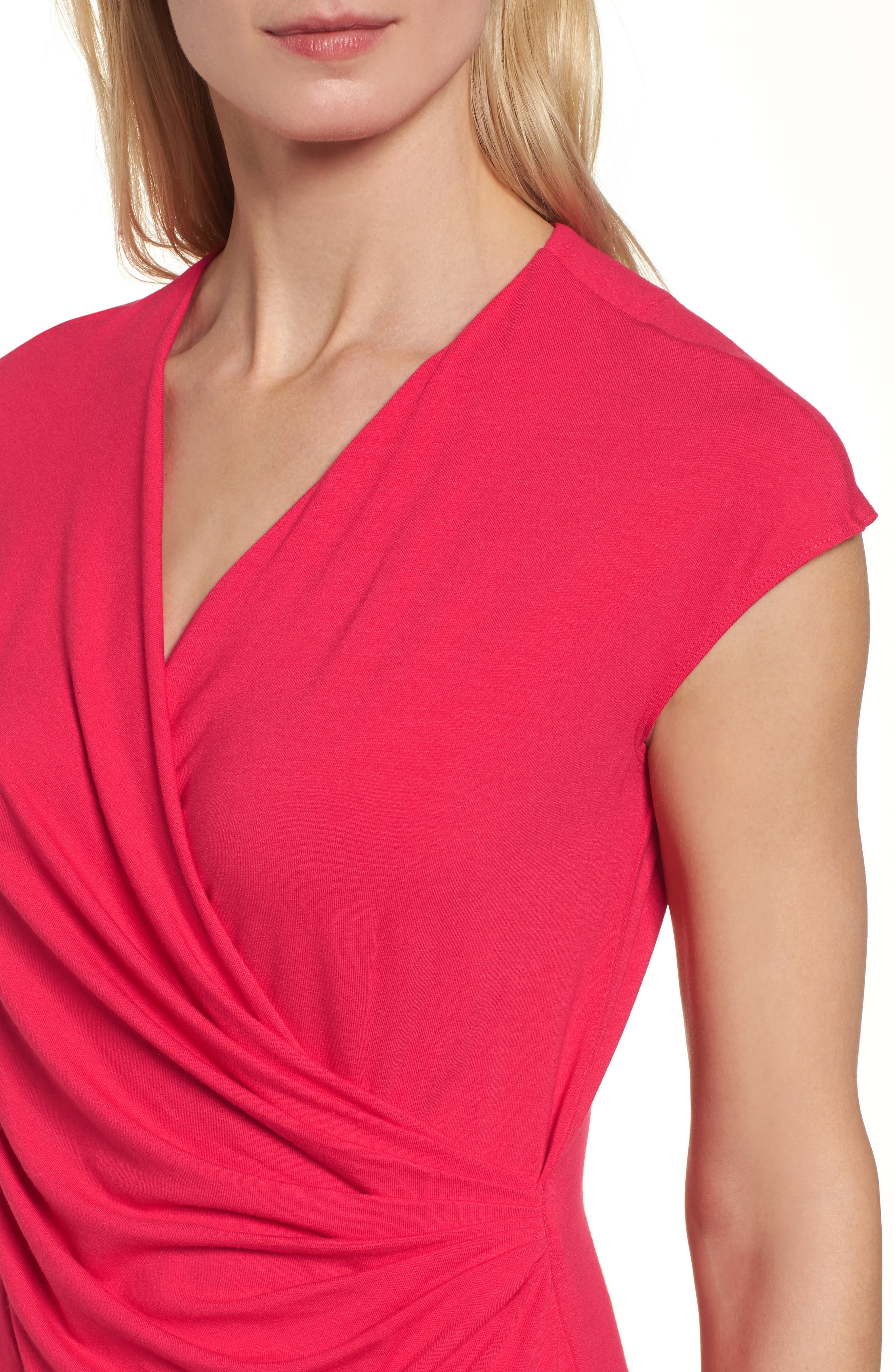 'Tambour' Side Gathered Dress,                             Alternate thumbnail 27, color,