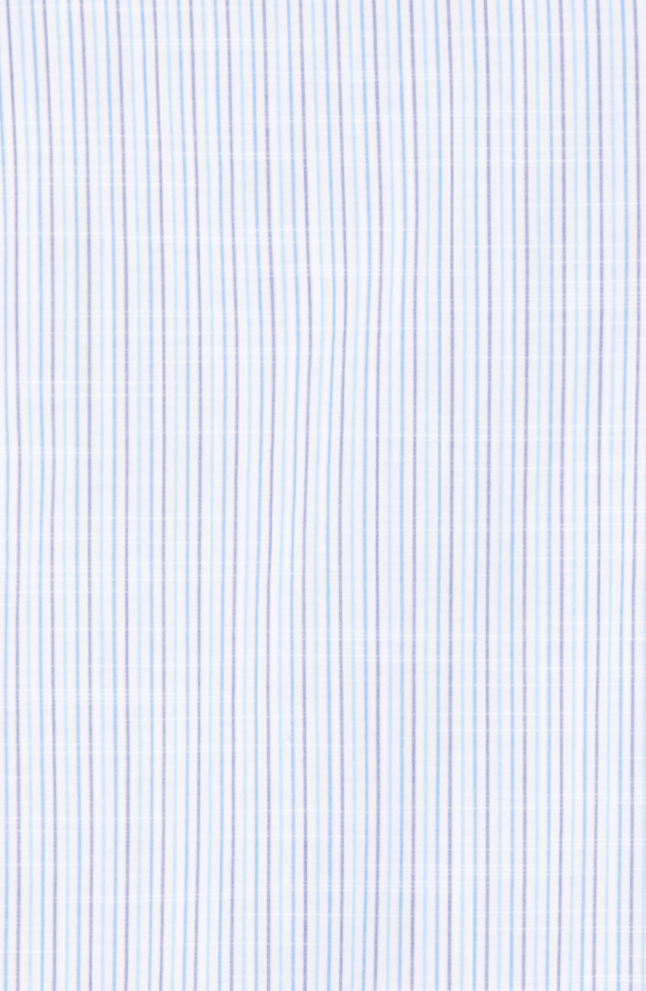 Skeeter Stripe Sport Shirt,                             Alternate thumbnail 5, color,                             440