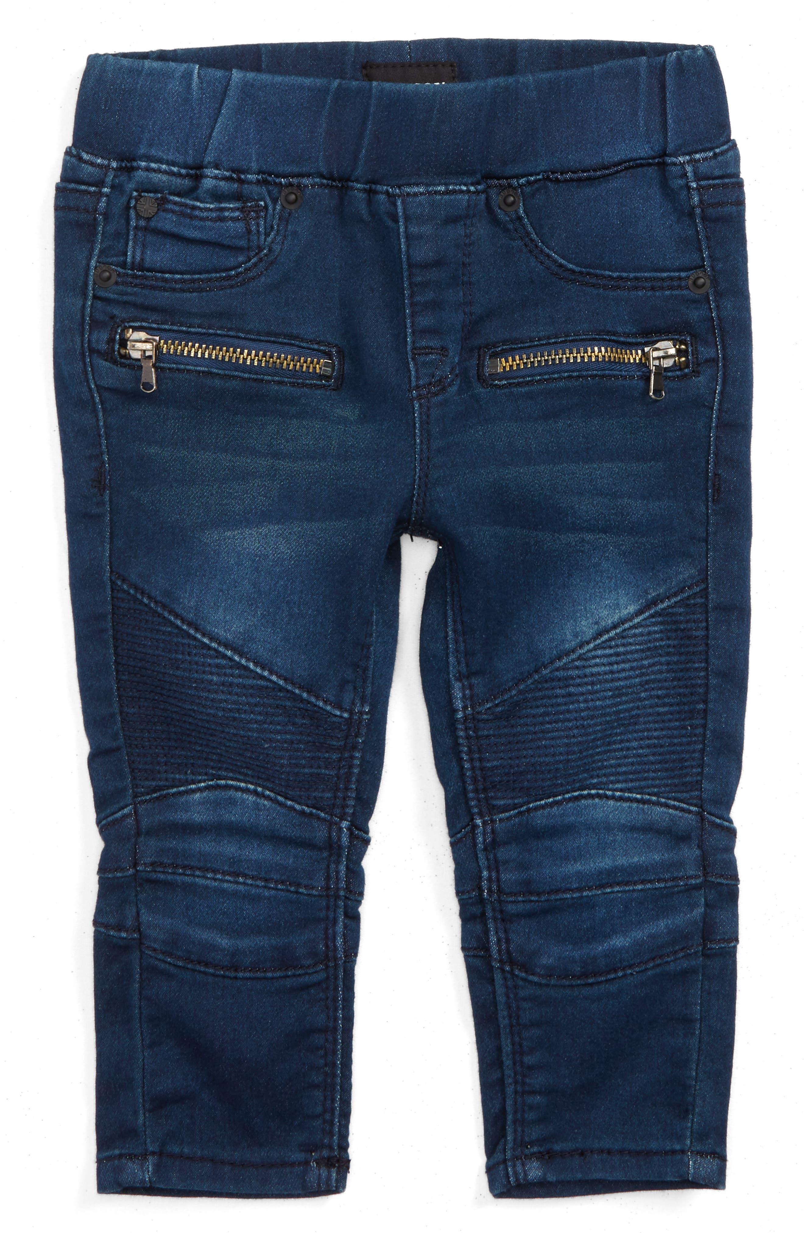 Moto Skinny Jeans,                         Main,                         color, 476