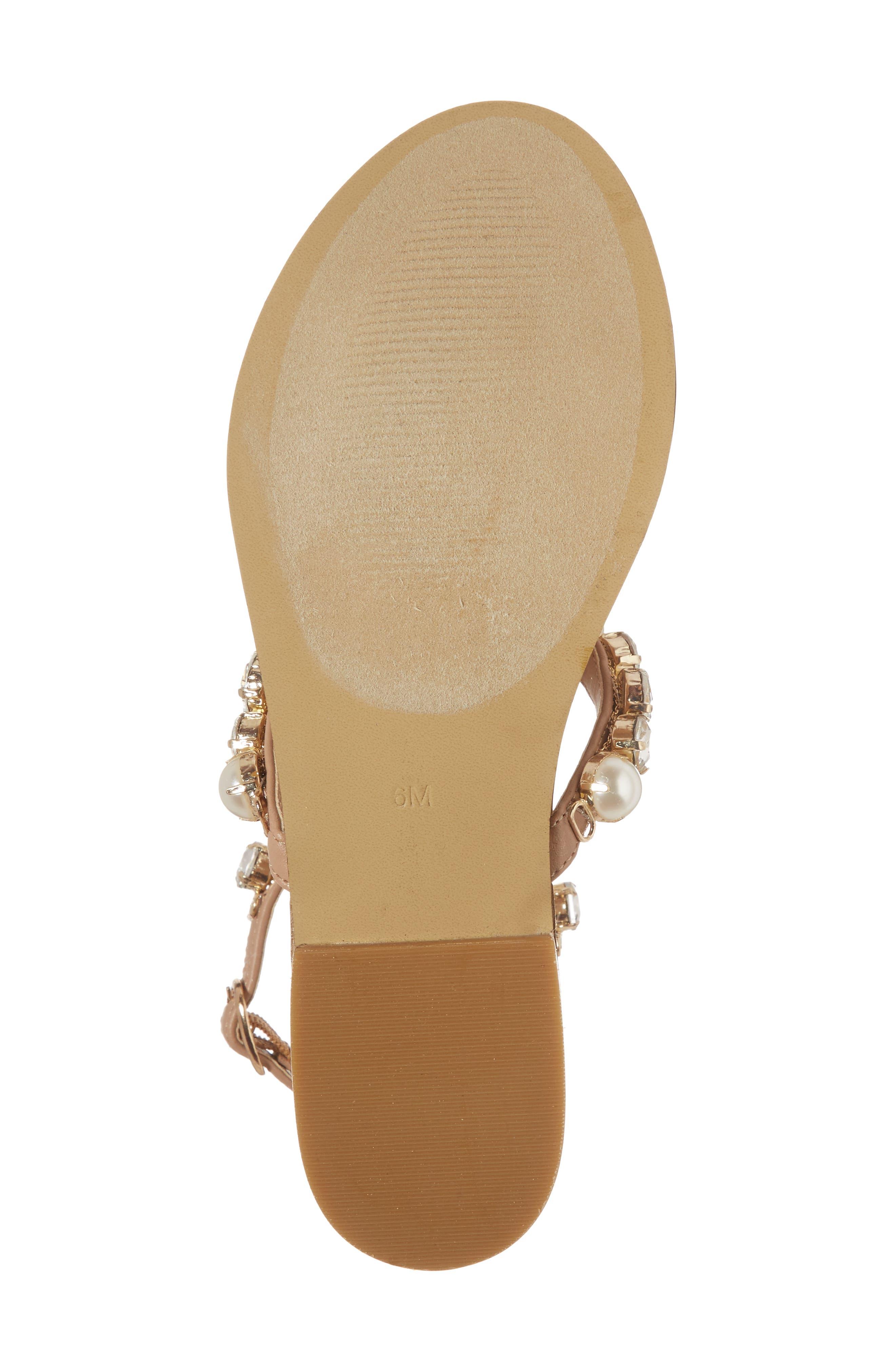 Chantel Crystal Embellished Sandal,                             Alternate thumbnail 12, color,