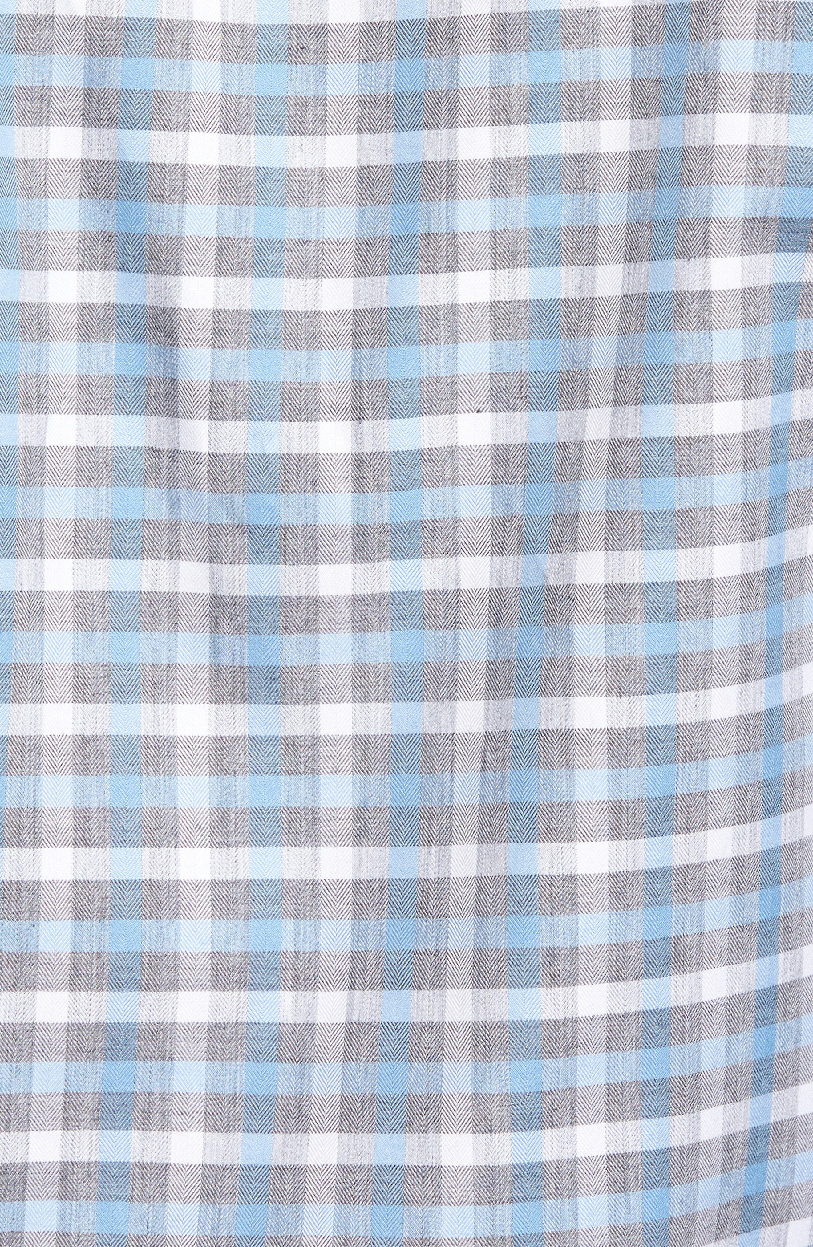 Plaid Regular Fit Sport Shirt,                             Alternate thumbnail 9, color,