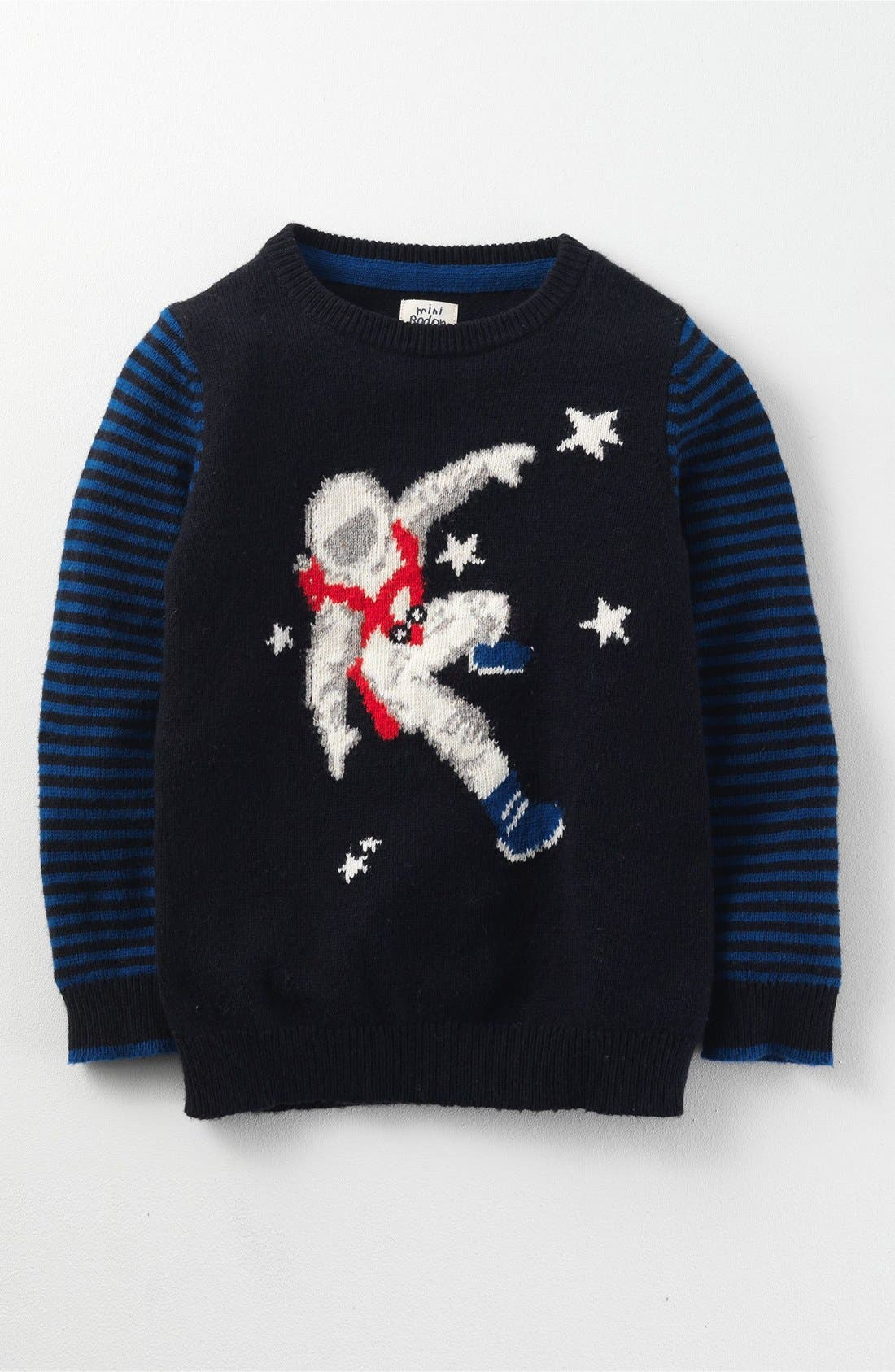 MINI BODEN,                             Space Sweater,                             Main thumbnail 1, color,                             054