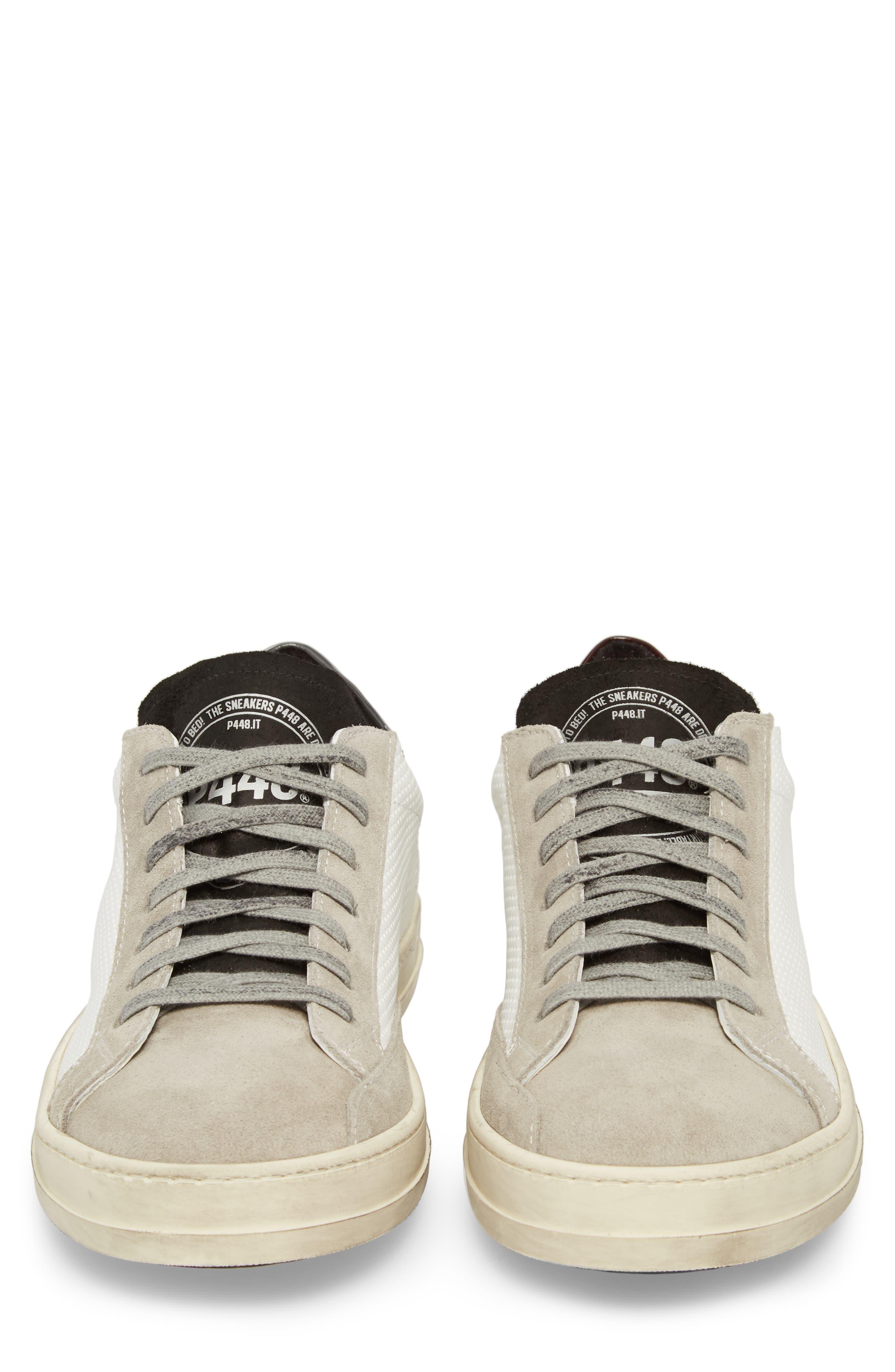 John Mix Low Top Sneaker,                             Alternate thumbnail 5, color,                             100
