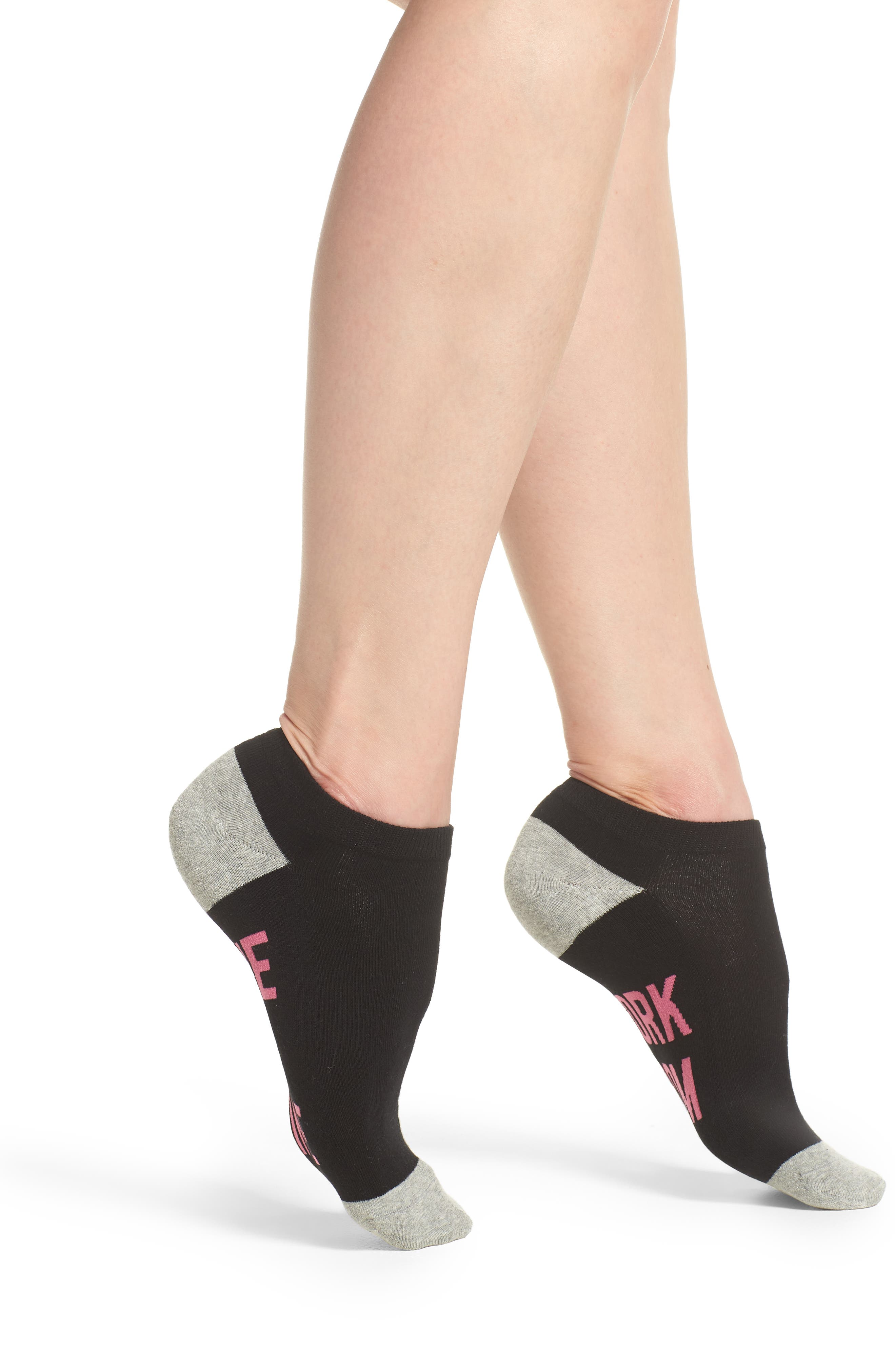Nine to Wine Low-Cut Socks,                             Main thumbnail 1, color,                             001