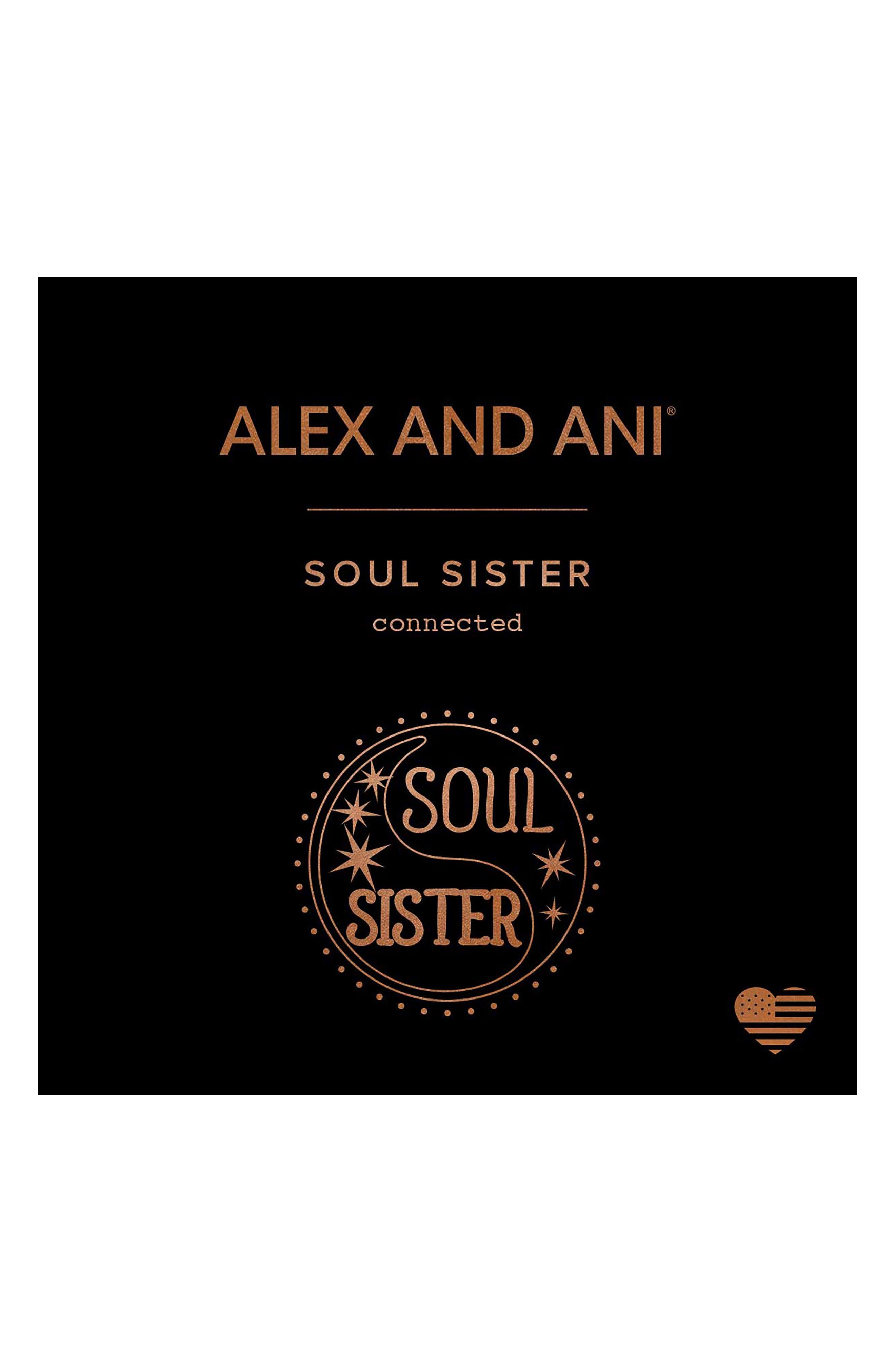 Soul Sister Charm Bangle,                             Alternate thumbnail 3, color,                             SILVER