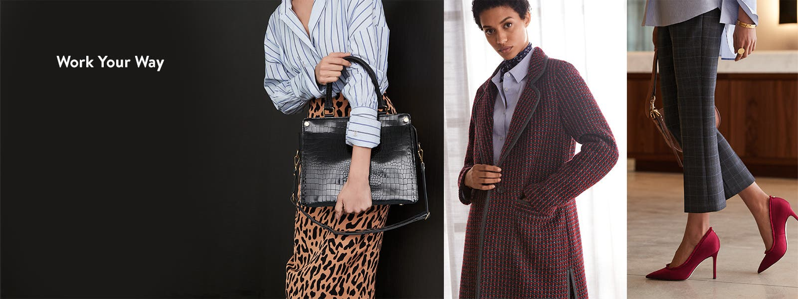 Work Your Way: the newest office looks.