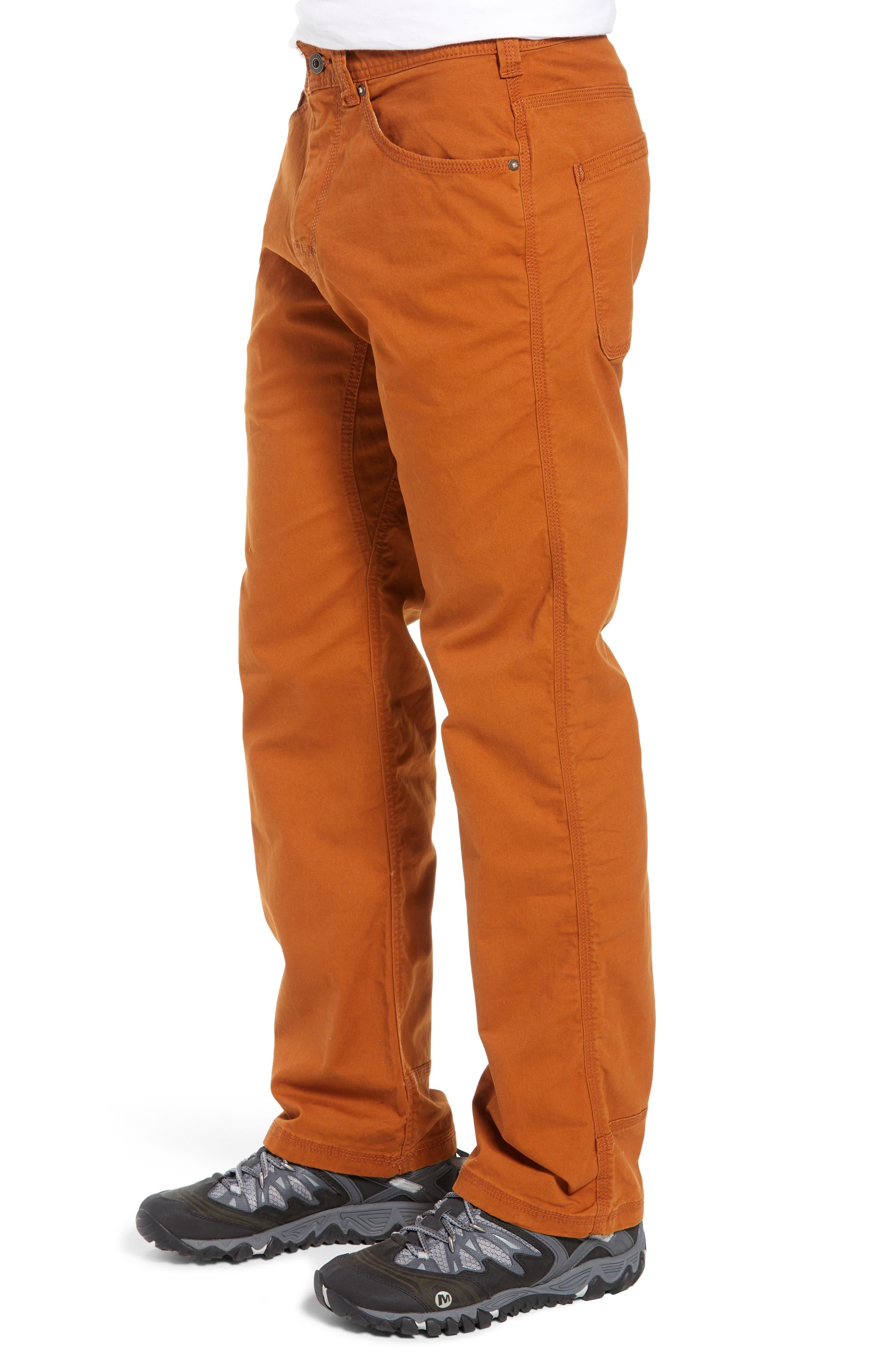 Bronson Pants,                             Alternate thumbnail 4, color,                             BURNT CARAMEL