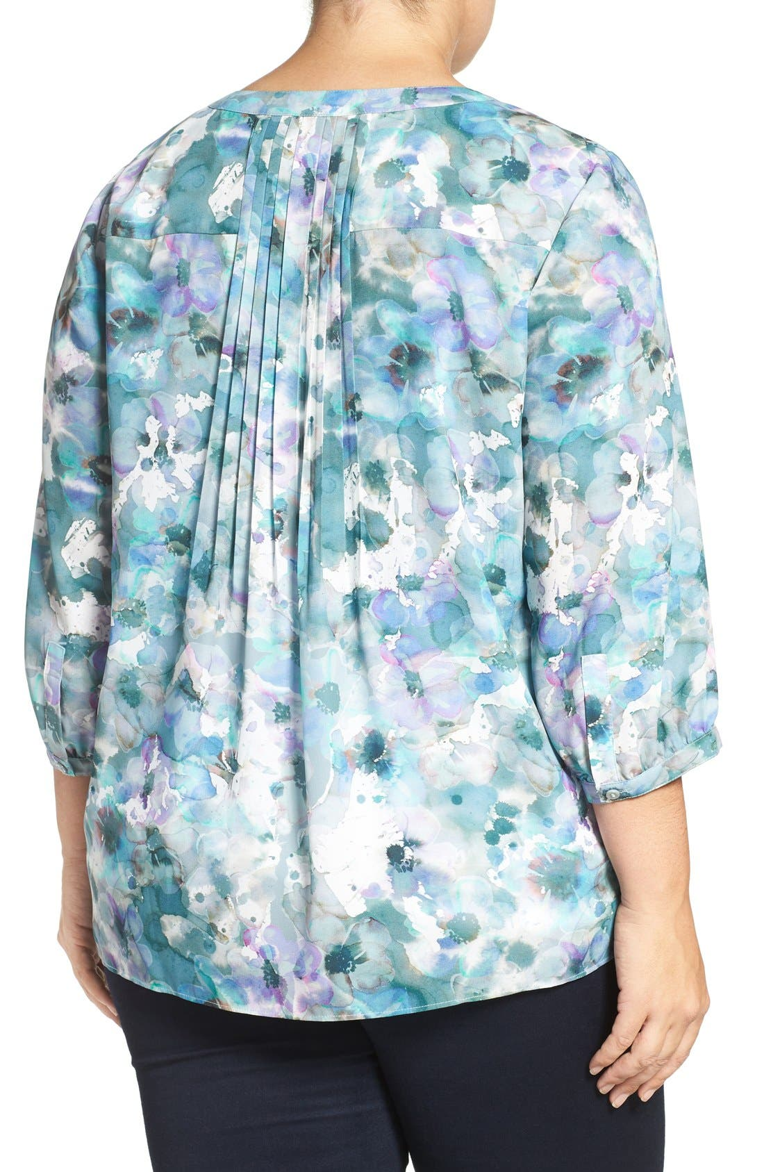 Henley Top,                             Alternate thumbnail 129, color,