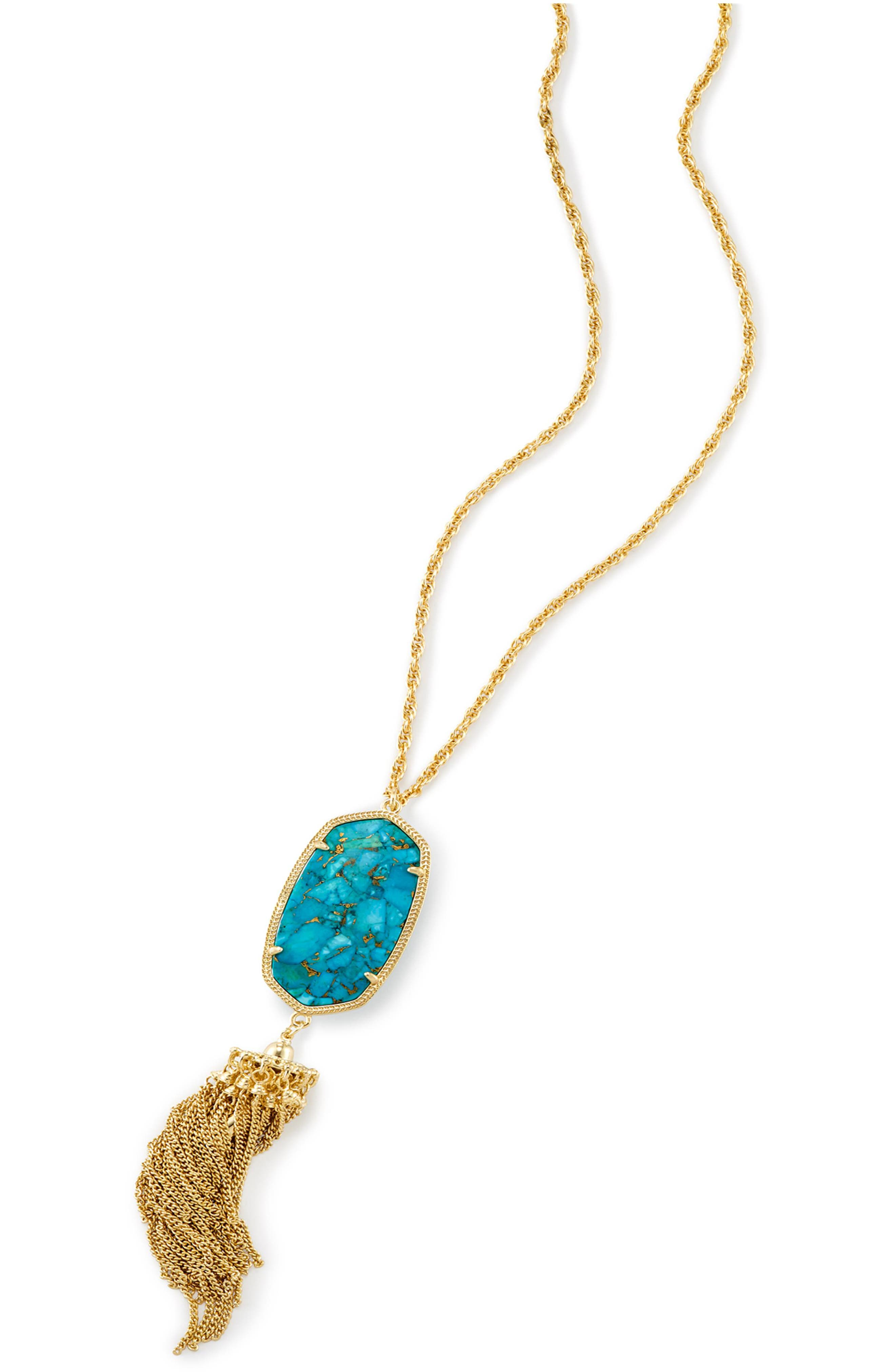 Rayne Stone Tassel Pendant Necklace,                             Alternate thumbnail 283, color,