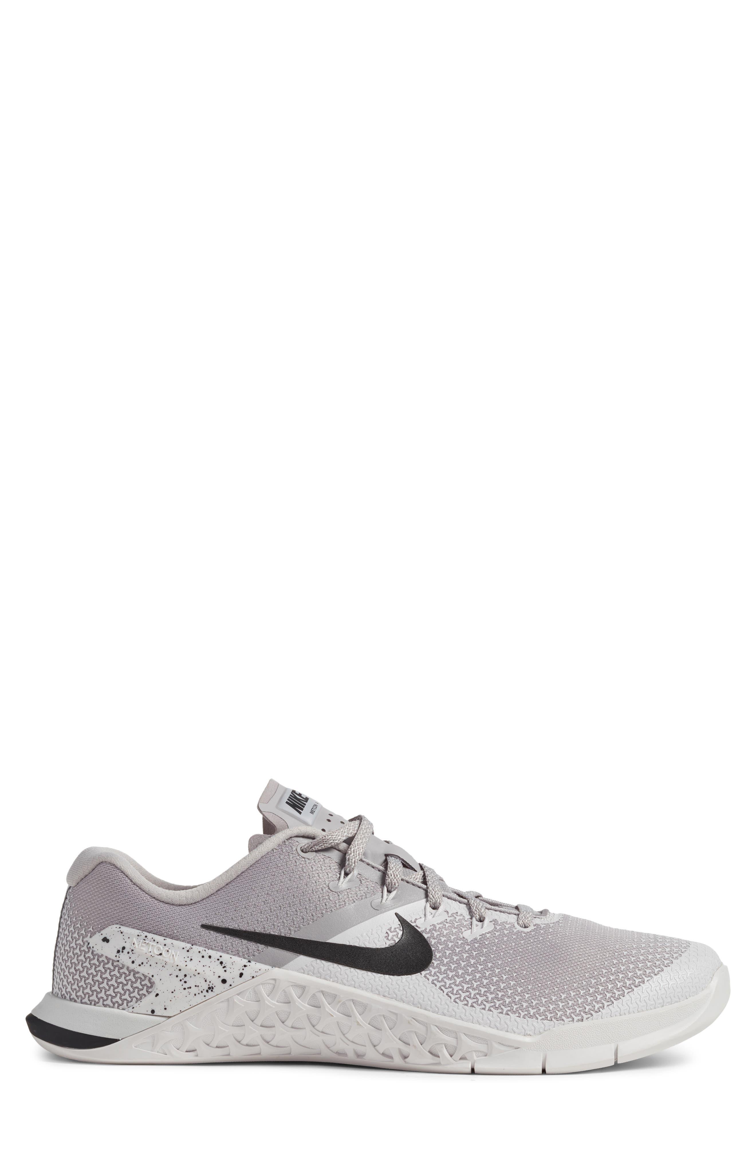 Metcon 4 Training Shoe,                             Alternate thumbnail 3, color,                             ATMOSPHERE GREY/ BLACK