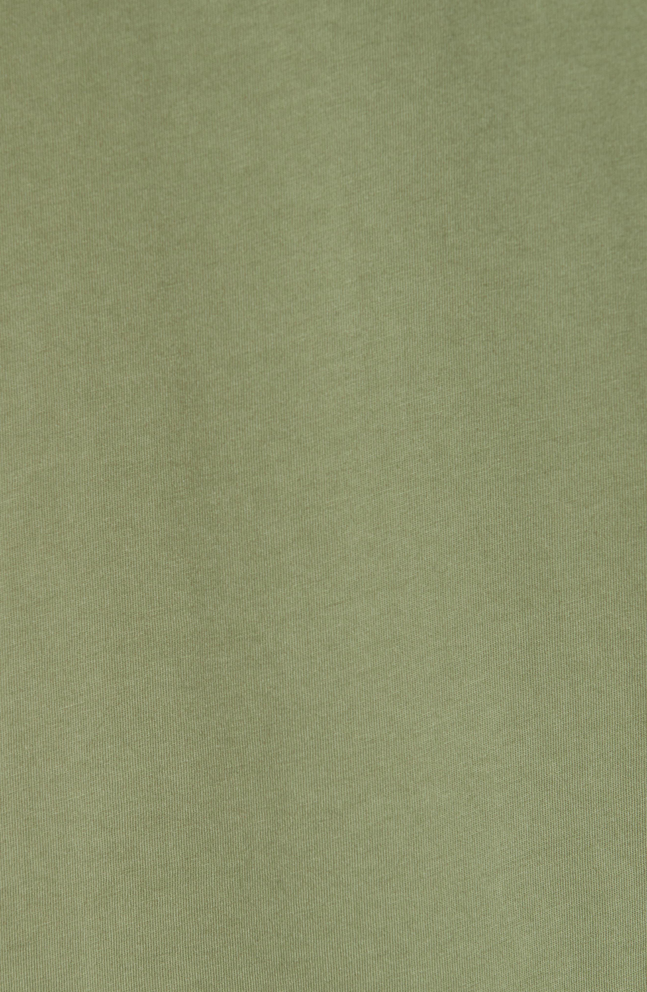 Cotton Classic Crew T-Shirt,                             Alternate thumbnail 5, color,                             301