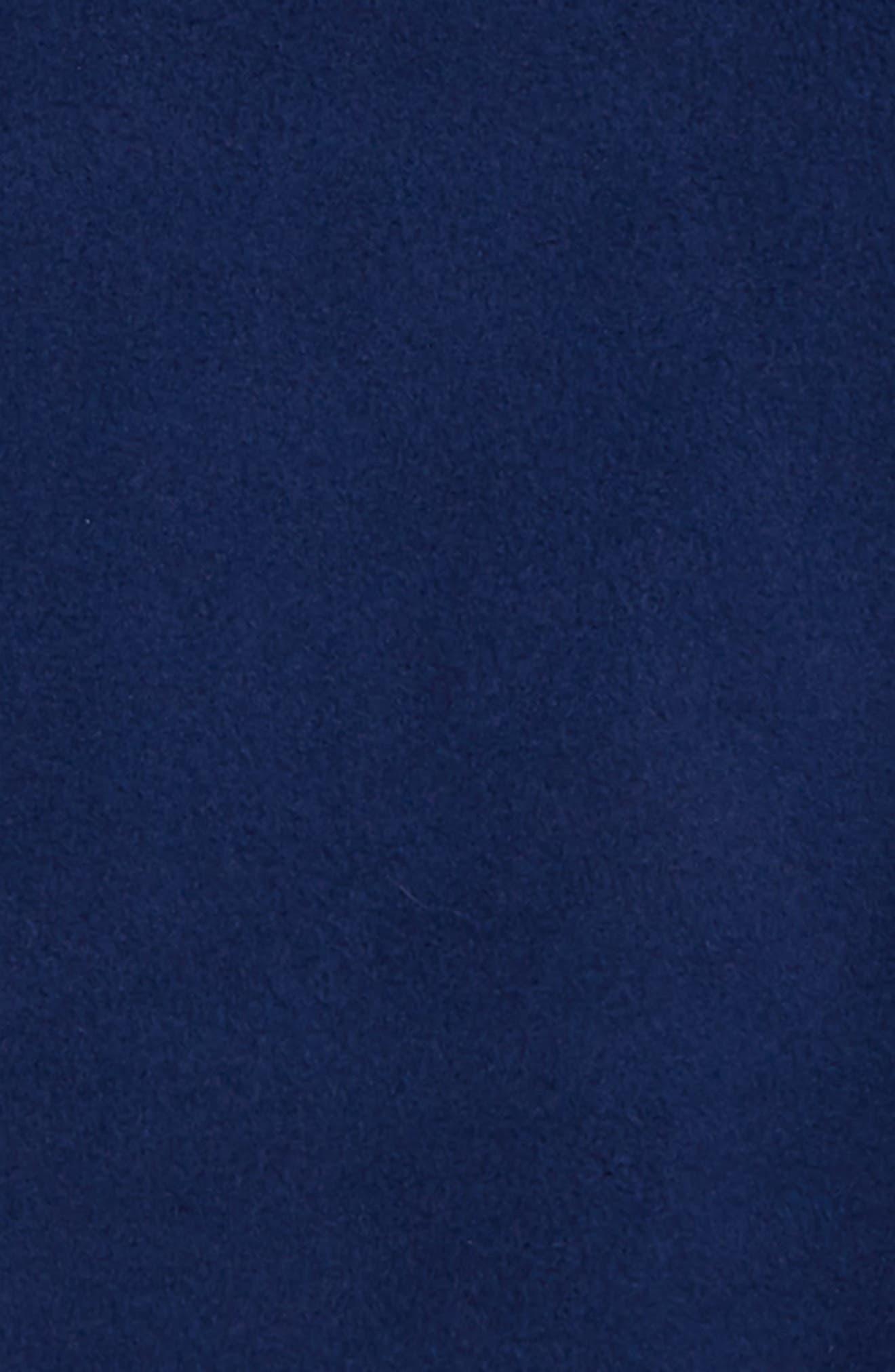 Shep Snap Placket Fleece Pullover,                             Alternate thumbnail 2, color,                             DEEP BAY