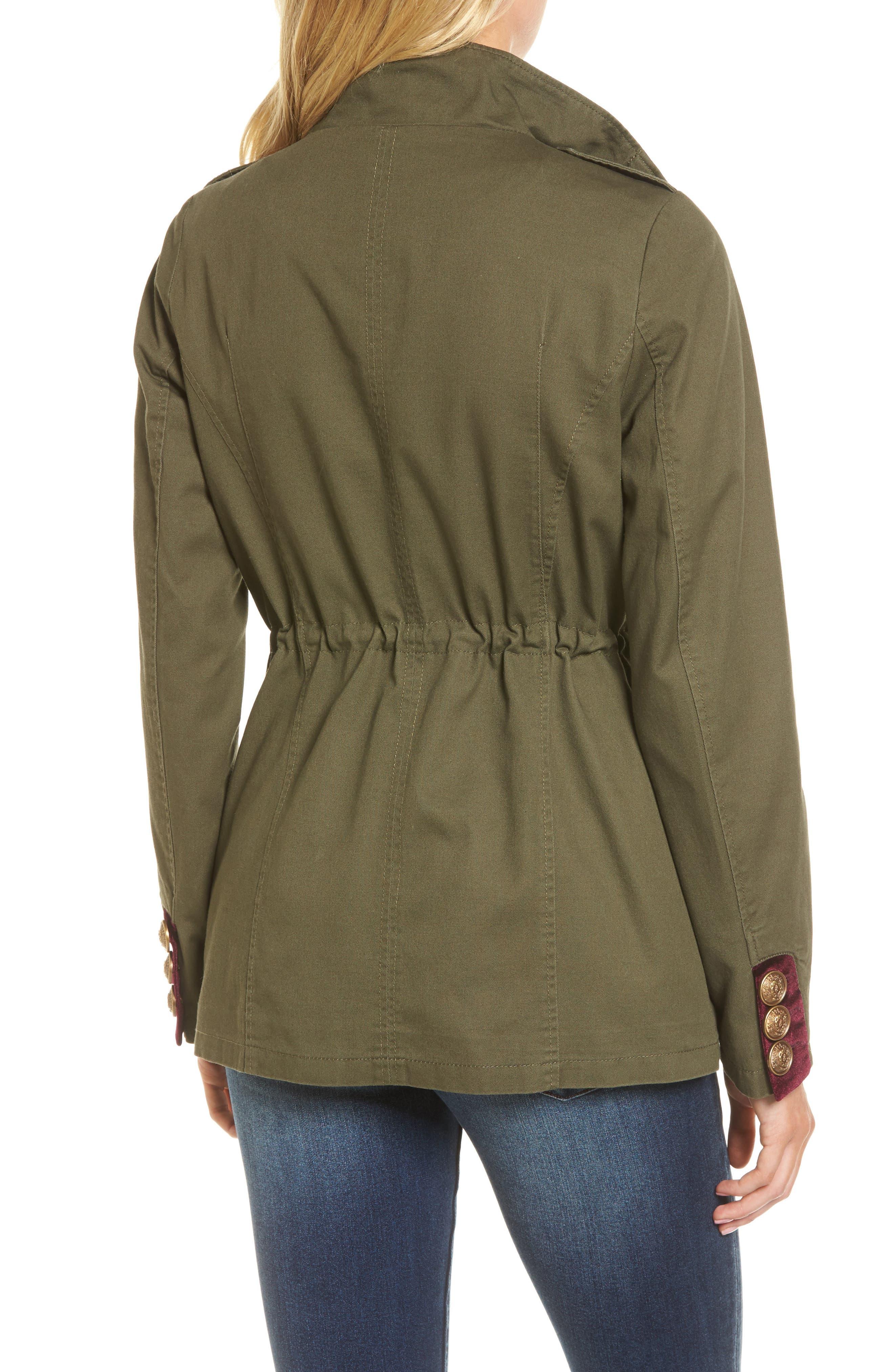 Embellished Utility Jacket,                             Alternate thumbnail 4, color,