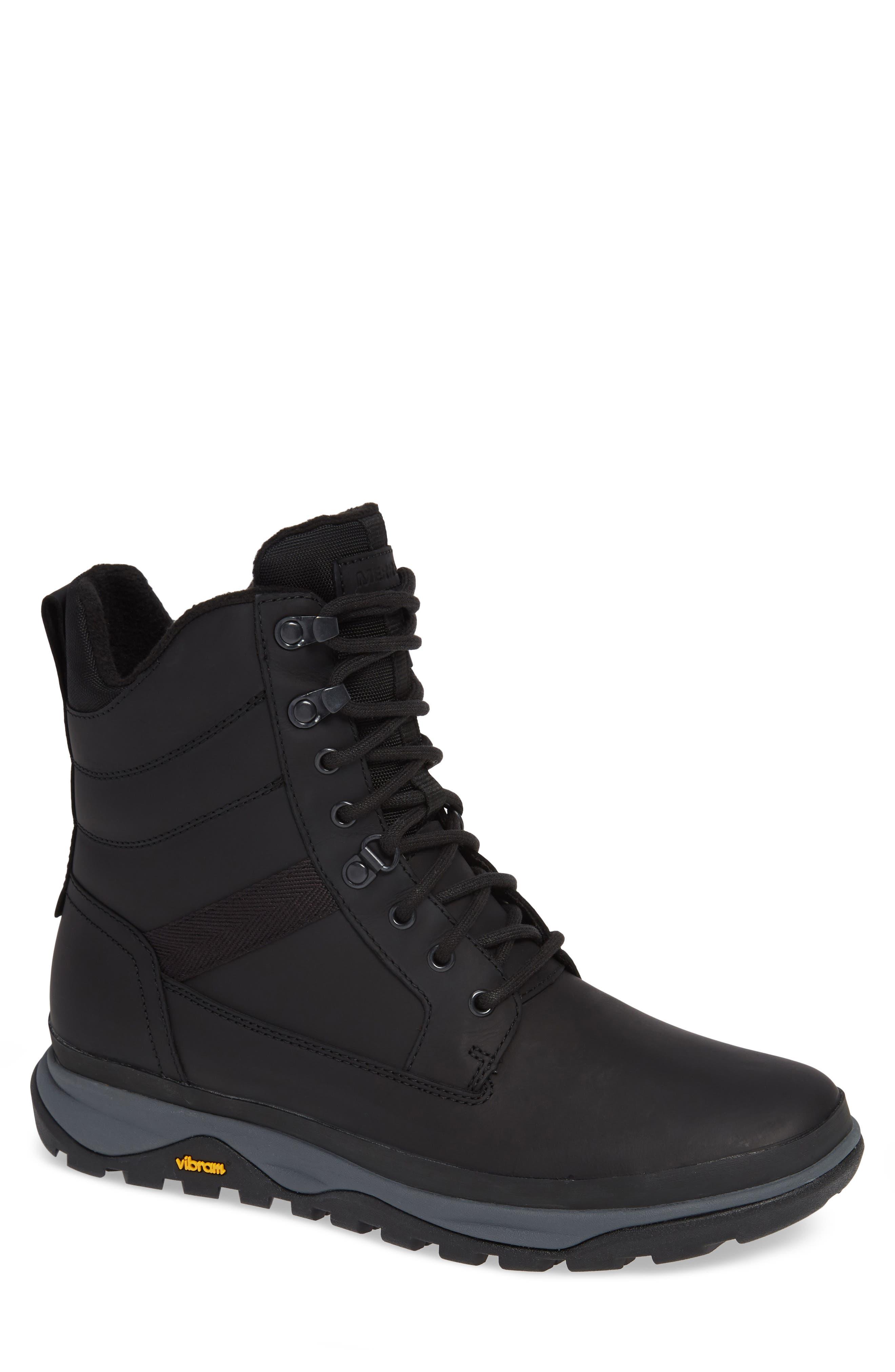 Merrell Tremblant Insulated Waterproof Boot, Black