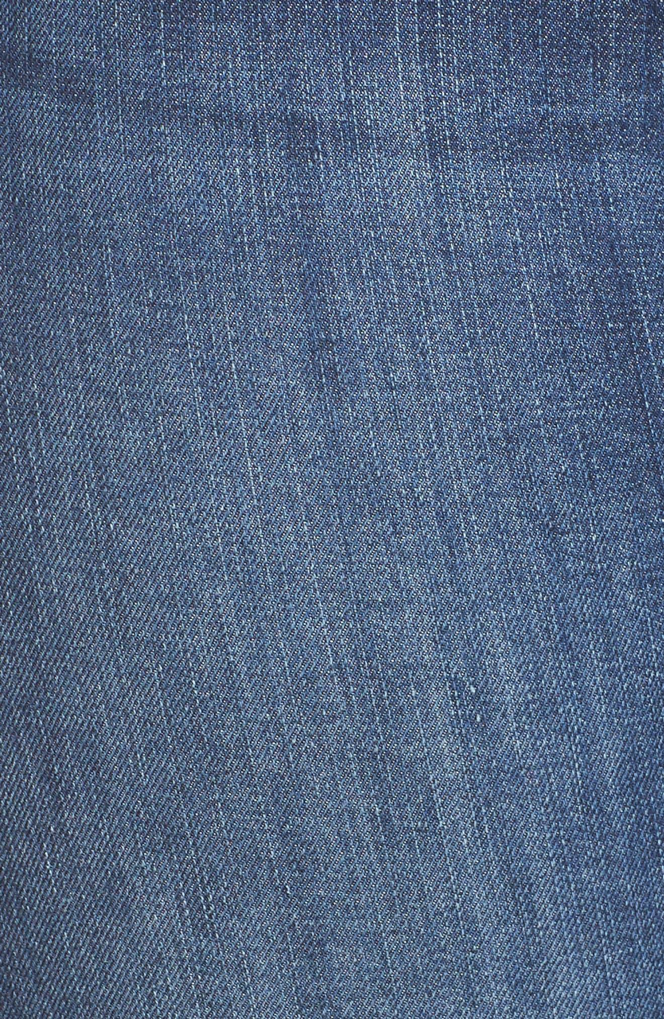 Good Legs High Rise Skinny Jeans,                             Alternate thumbnail 10, color,                             BLUE 004