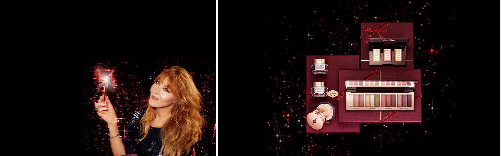 Limited-edition holiday beauty and skin care gifts from Charlotte Tilbury.