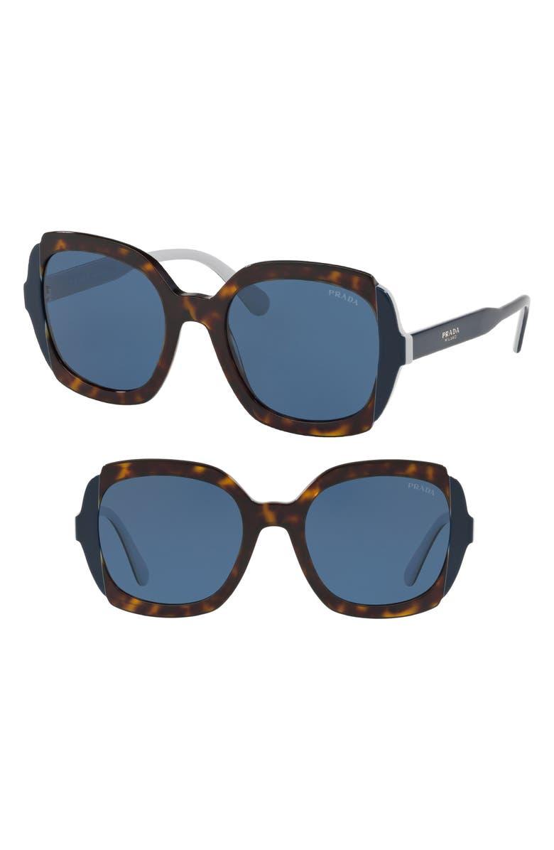 ef09c2d8d46 Prada Etiquette 54mm Square Sunglasses