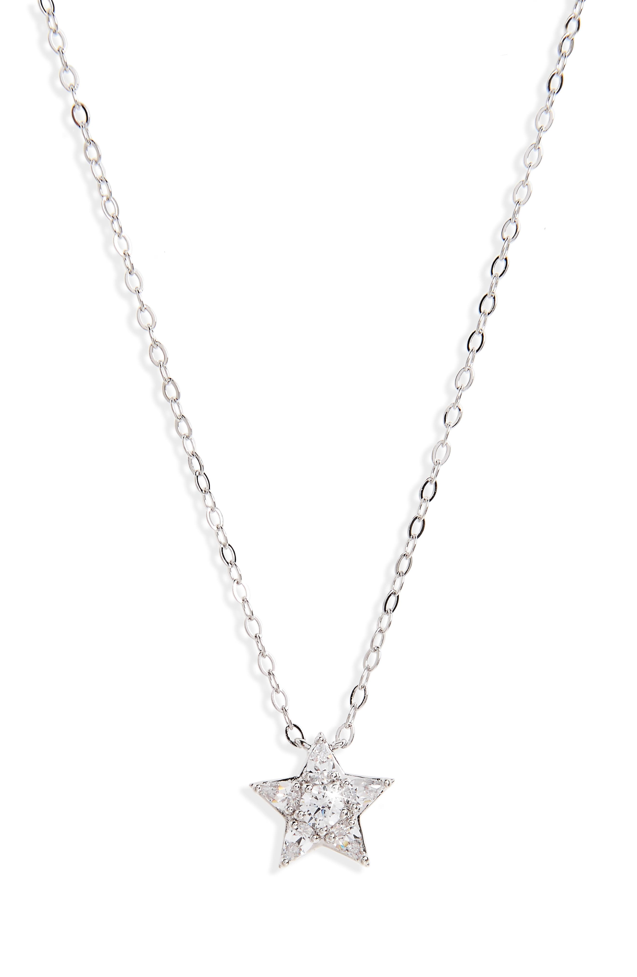Reminisce Star Pendant Necklace,                         Main,                         color, 044