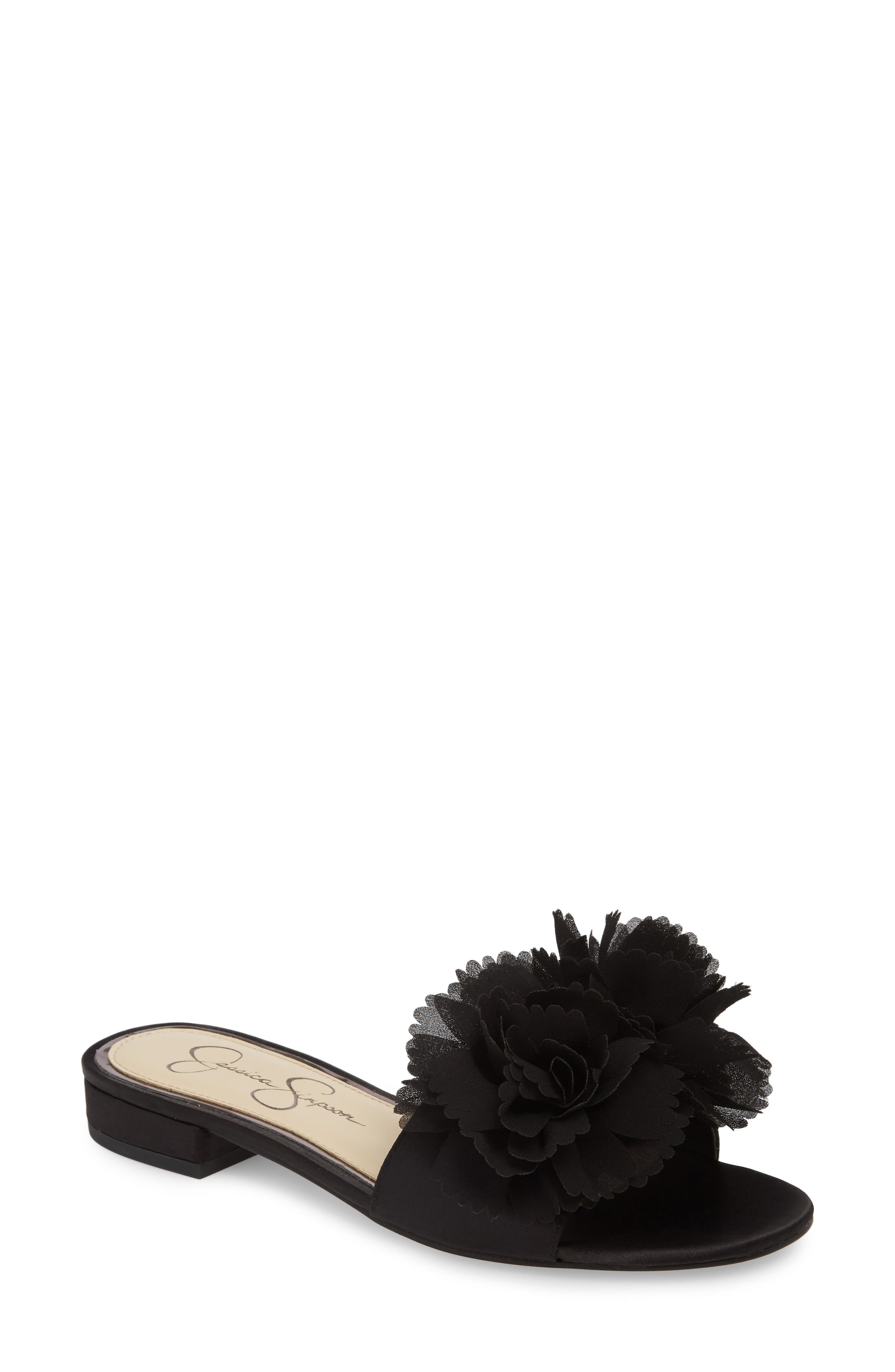 Caralin Slide Sandal,                         Main,                         color, 001