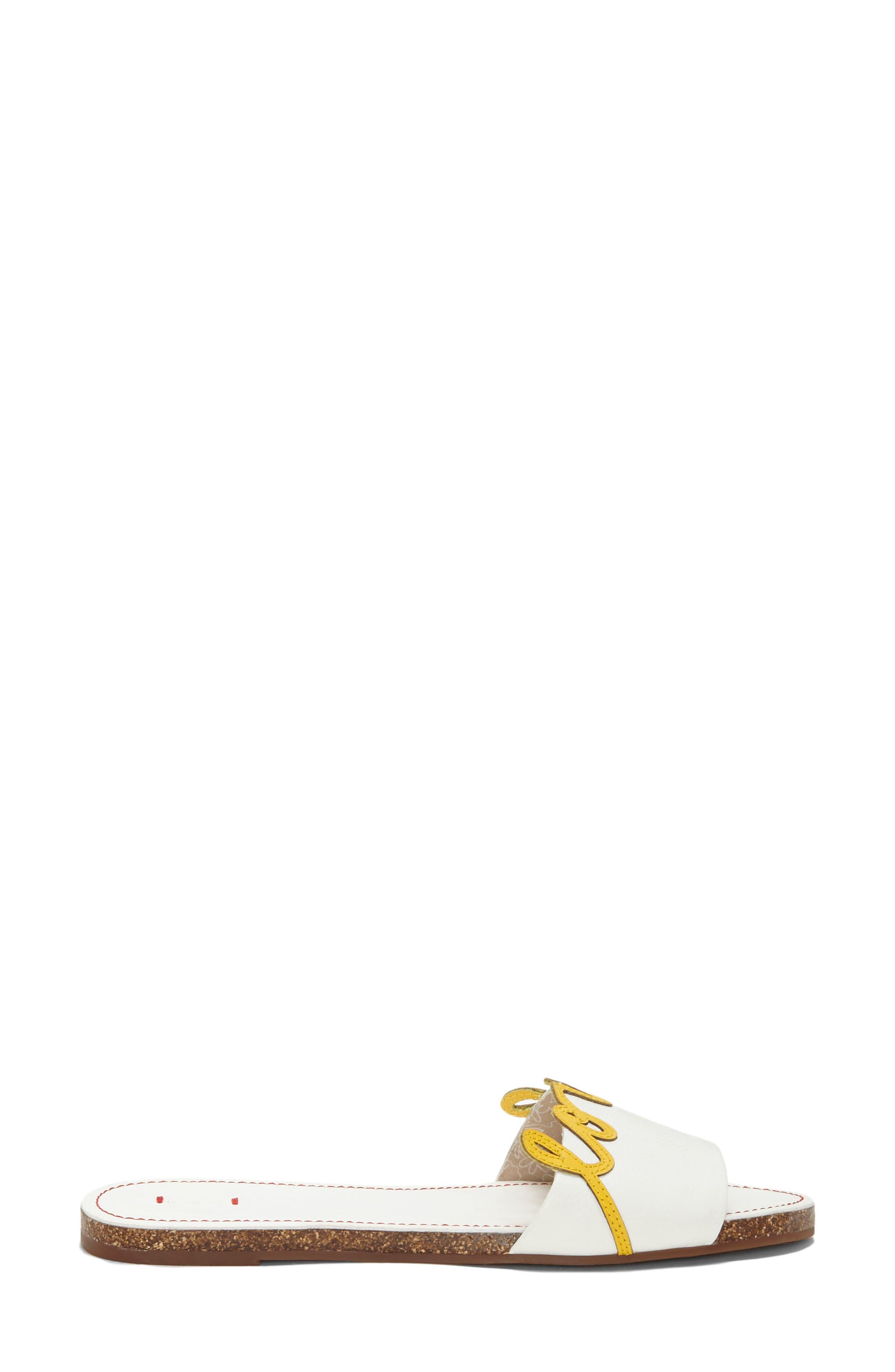 Sharlin Slide Sandal,                             Alternate thumbnail 3, color,                             110