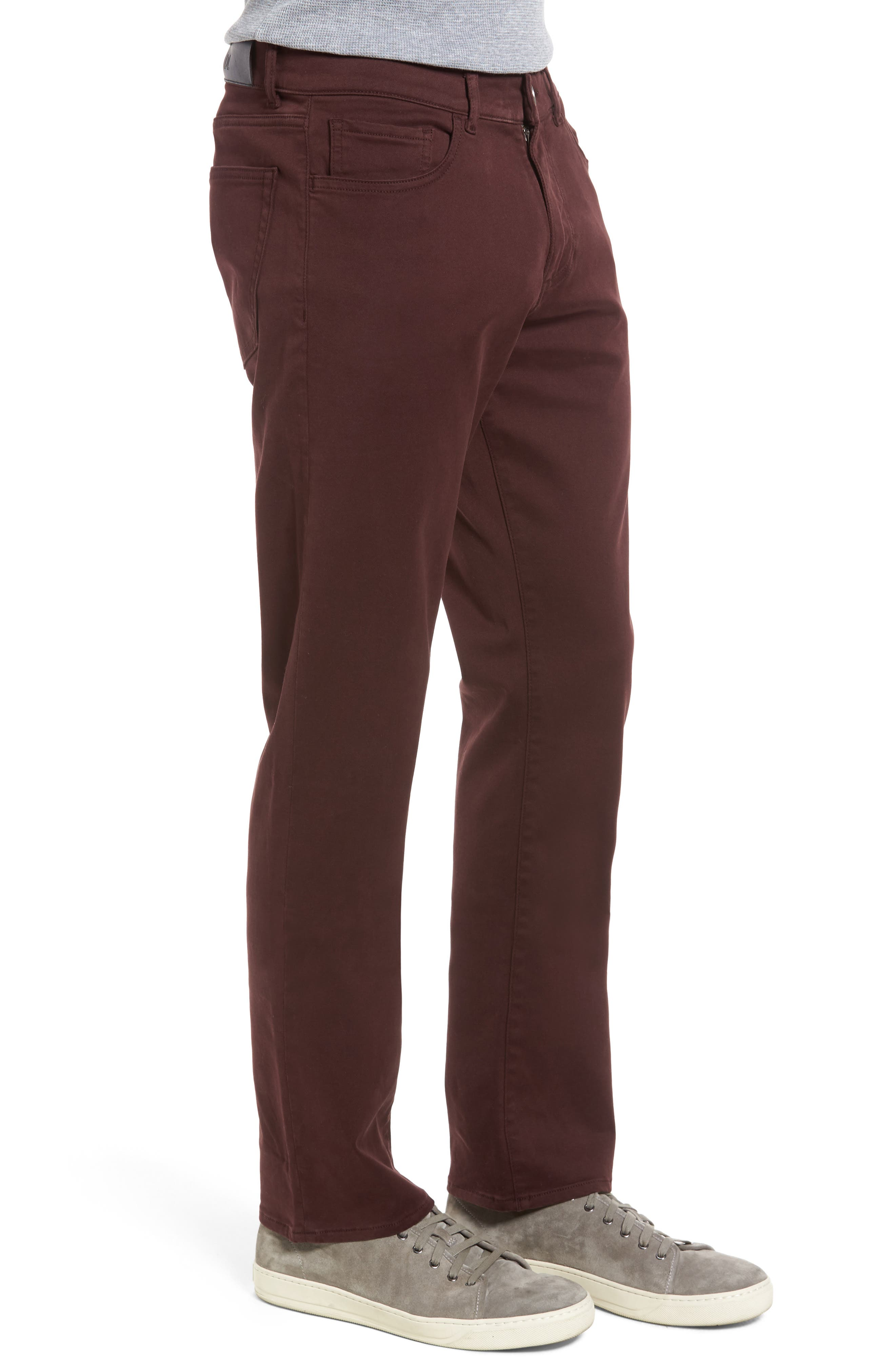 Russell Slim Fit Sateen Twill Pants,                             Alternate thumbnail 32, color,