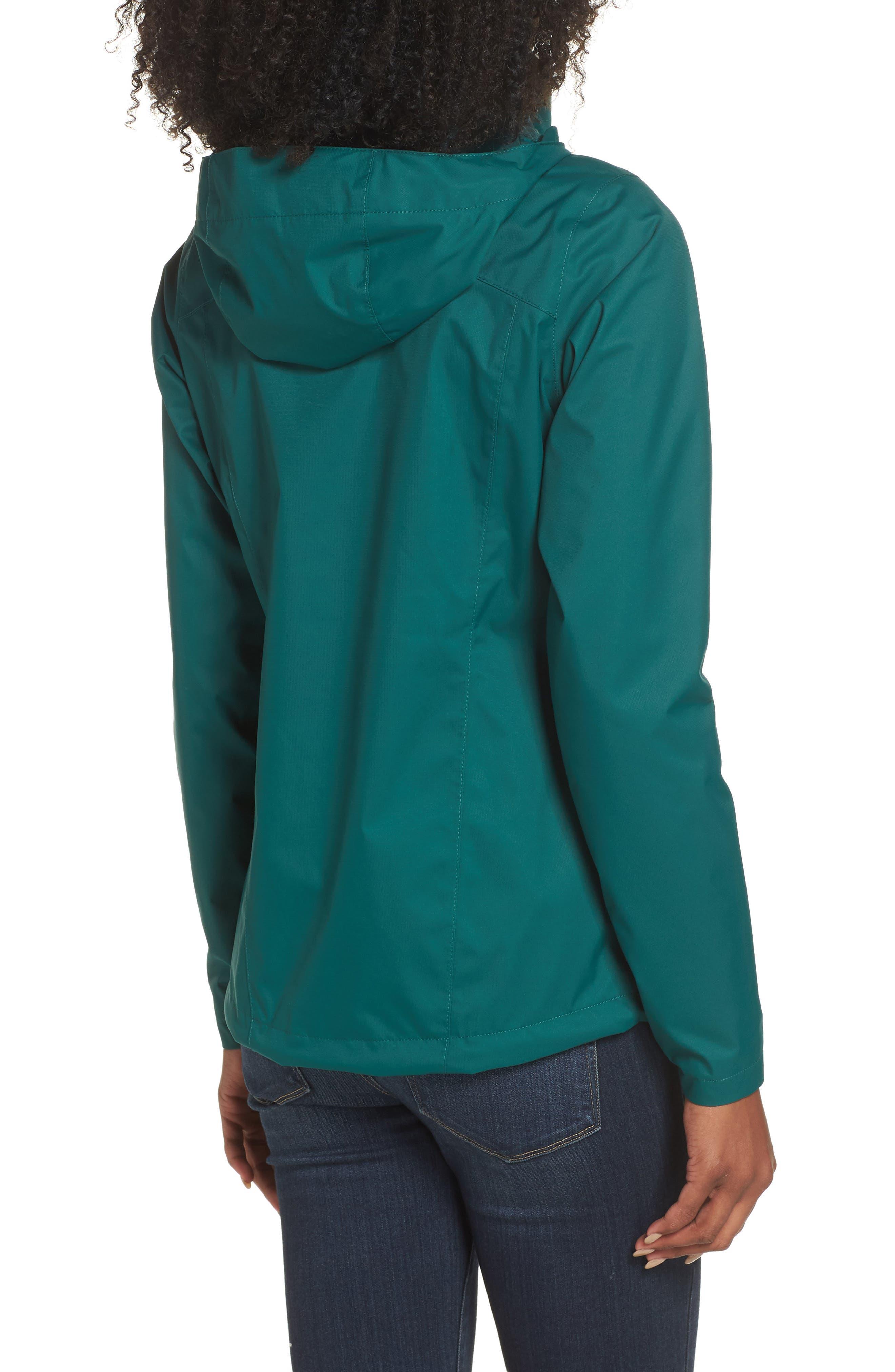Resolve Plus Waterproof Jacket,                             Alternate thumbnail 2, color,                             BOTANICAL GREEN