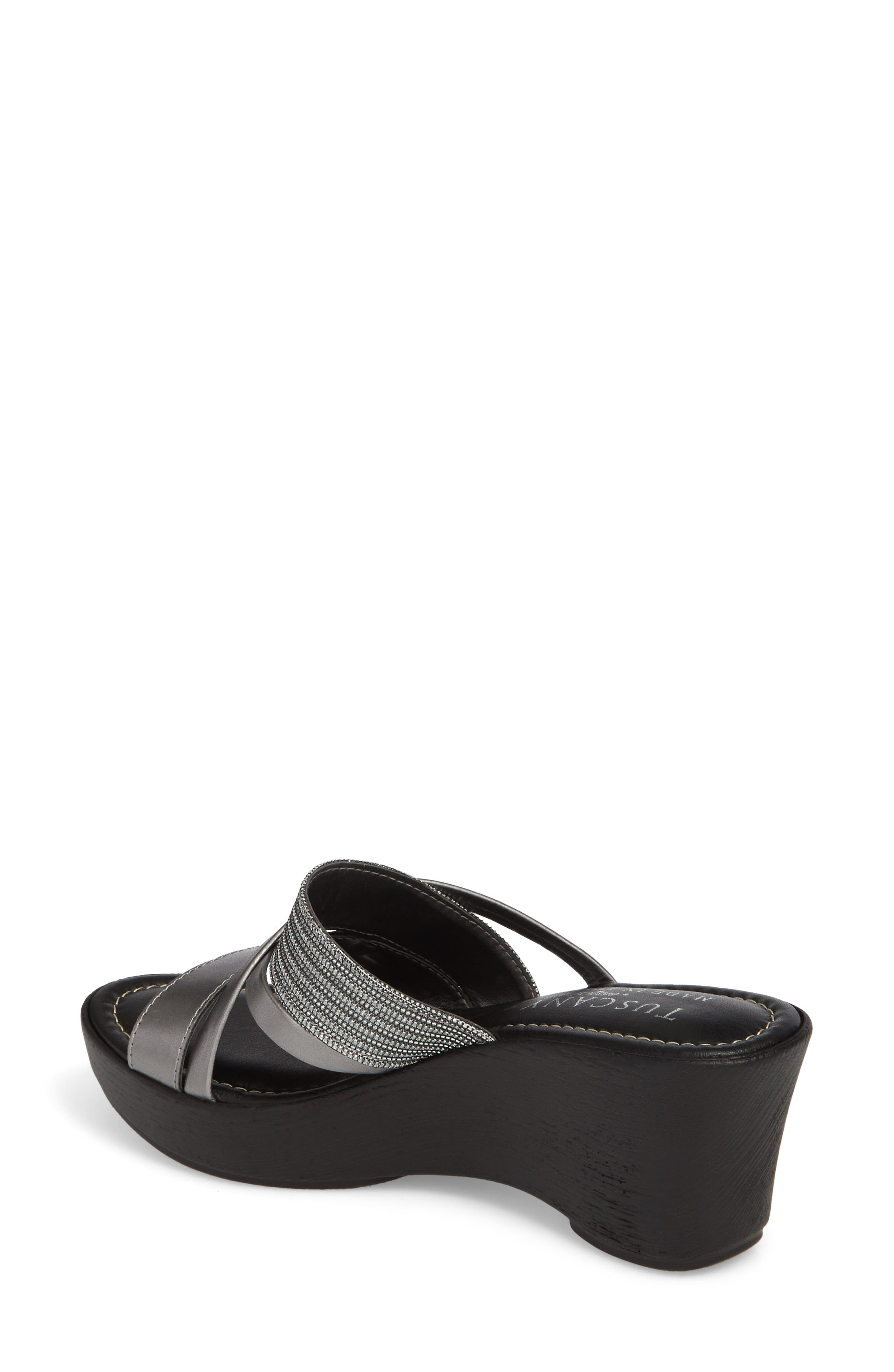 by East Street<sup>®</sup> Lucette Strappy Wedge Mule,                             Alternate thumbnail 7, color,
