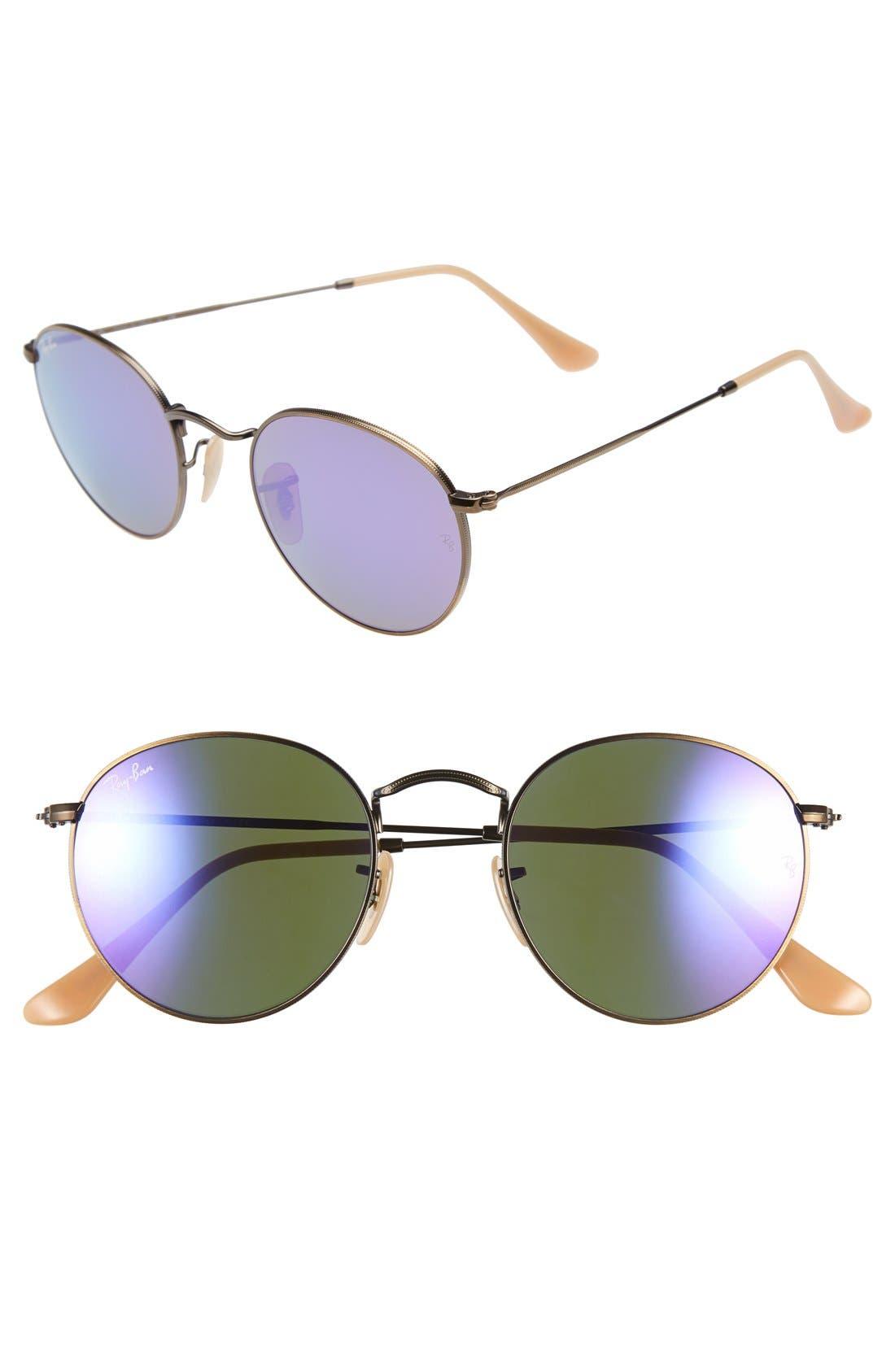 Icons 50mm Sunglasses,                             Main thumbnail 4, color,