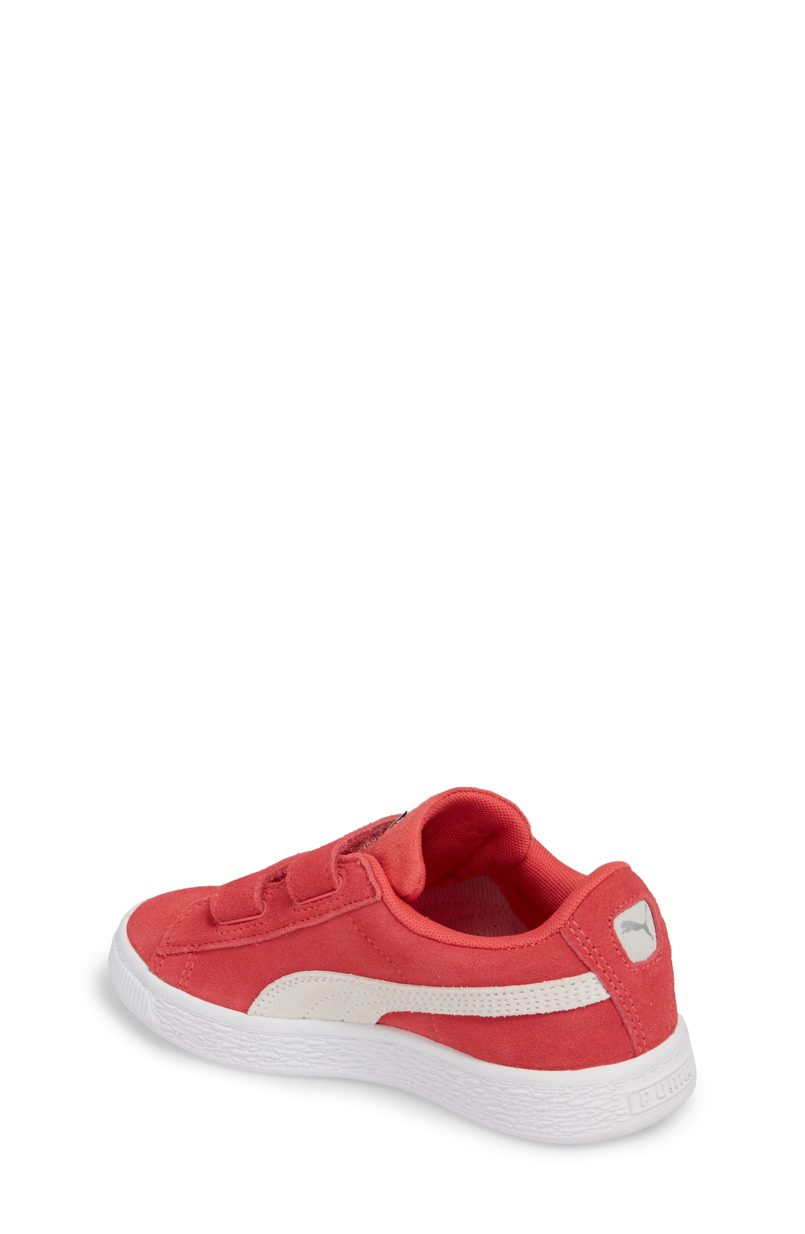 Suede Classic Sneaker,                             Alternate thumbnail 2, color,                             PARADISE PINK/ PUMA WHITE