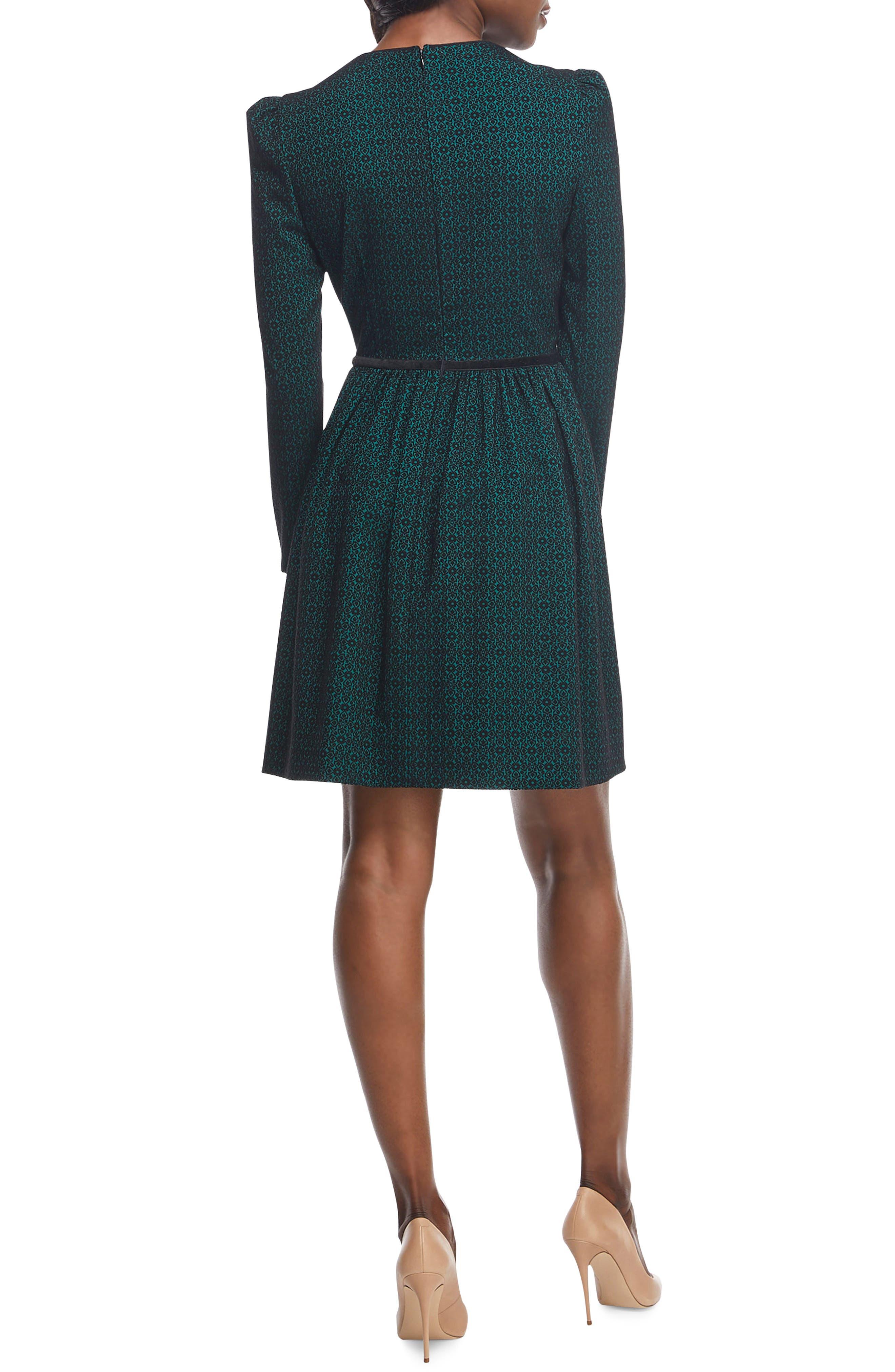 Callie Print Long Sleeve Dress,                             Alternate thumbnail 2, color,                             300