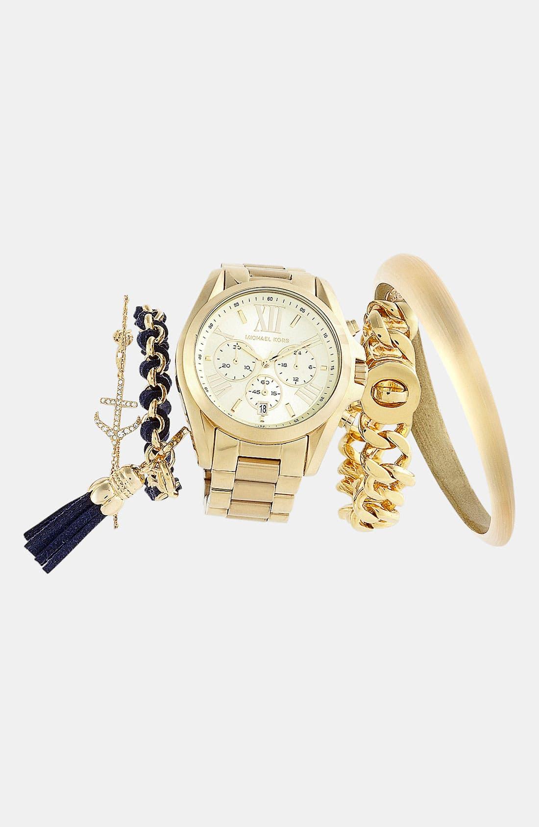 Bradshaw Chronograph Bracelet Watch, 43mm,                             Alternate thumbnail 54, color,
