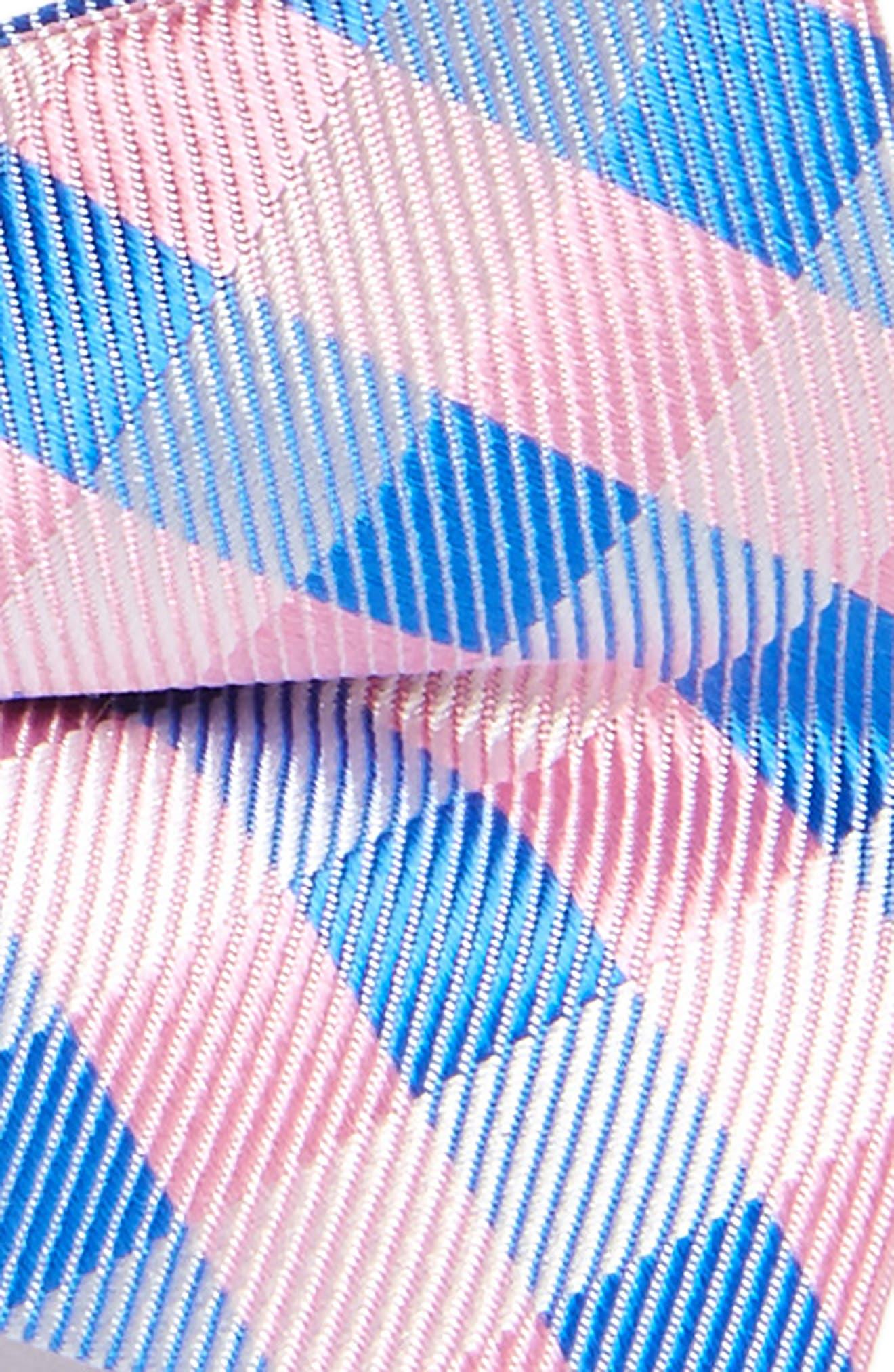 Plaid Silk Bow Tie,                             Alternate thumbnail 9, color,