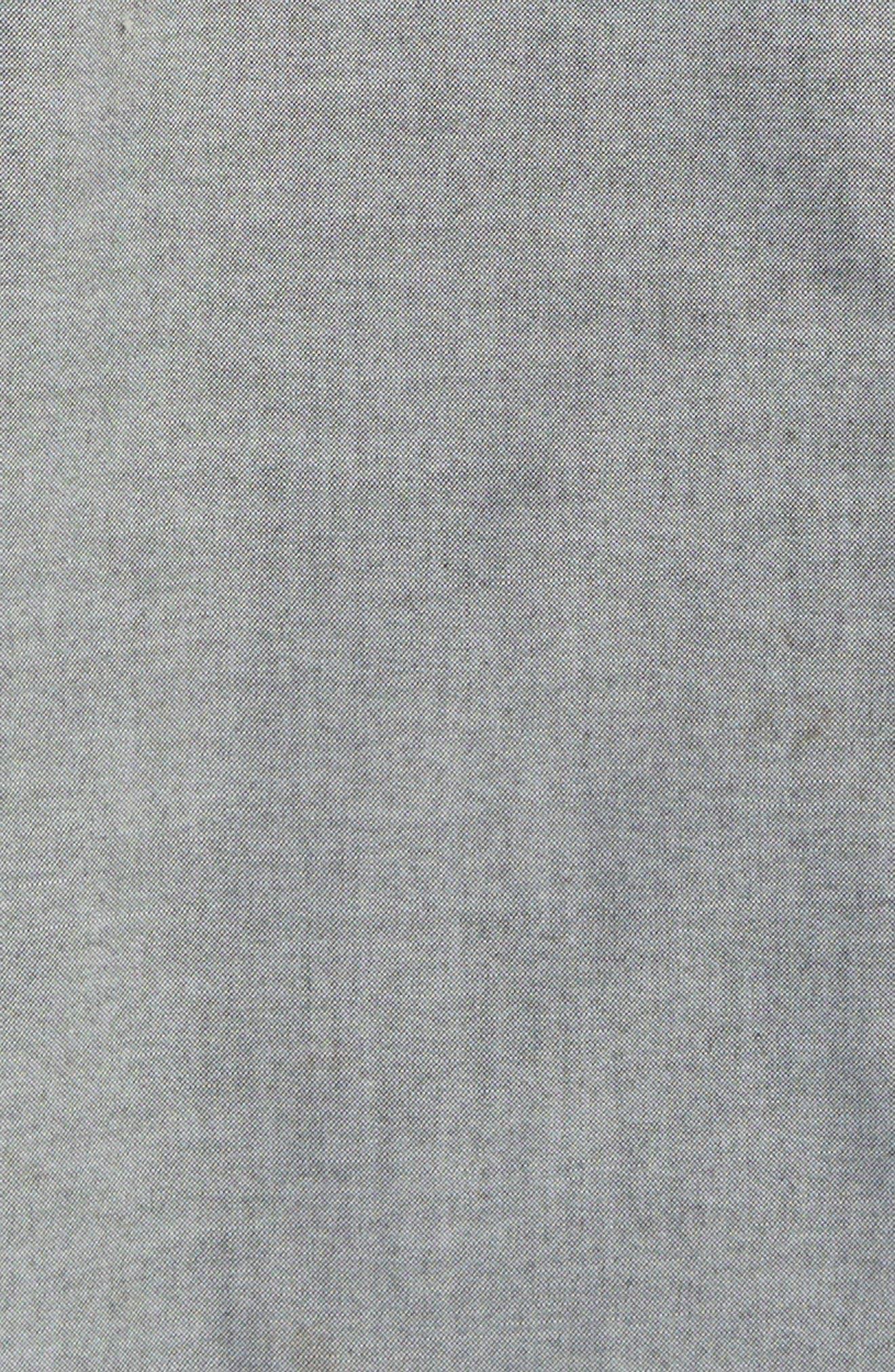 Bank Woven Shirt,                             Alternate thumbnail 4, color,                             001