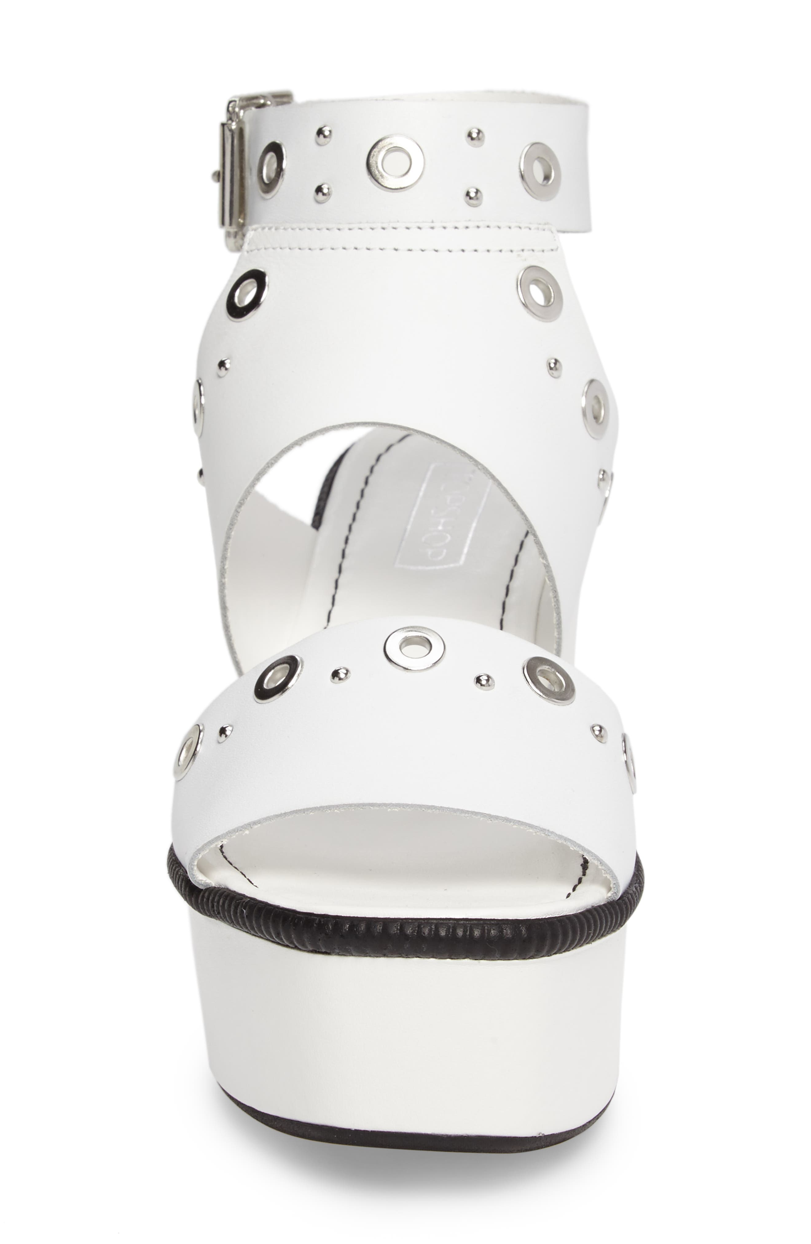 Wizz Grommeted Platform Wedge Sandal,                             Alternate thumbnail 8, color,