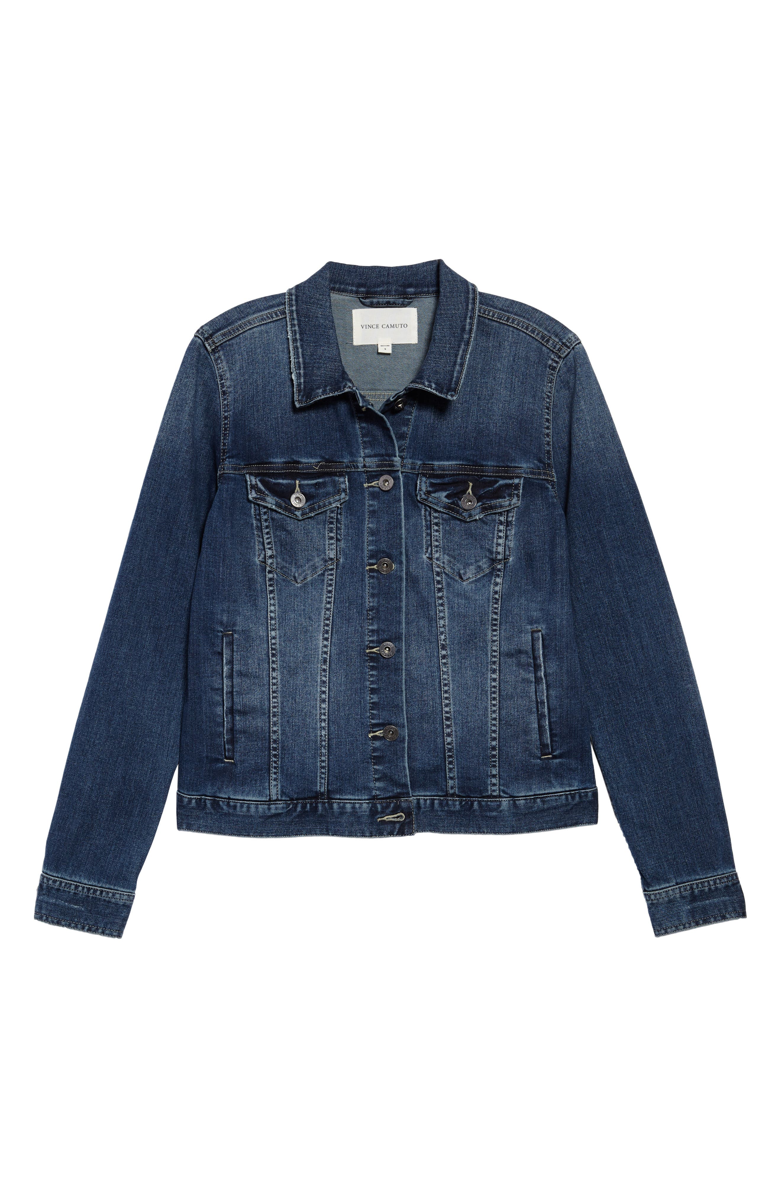 Two by Vince Camuto Jean Jacket,                             Alternate thumbnail 2, color,                             AUTHENTIC