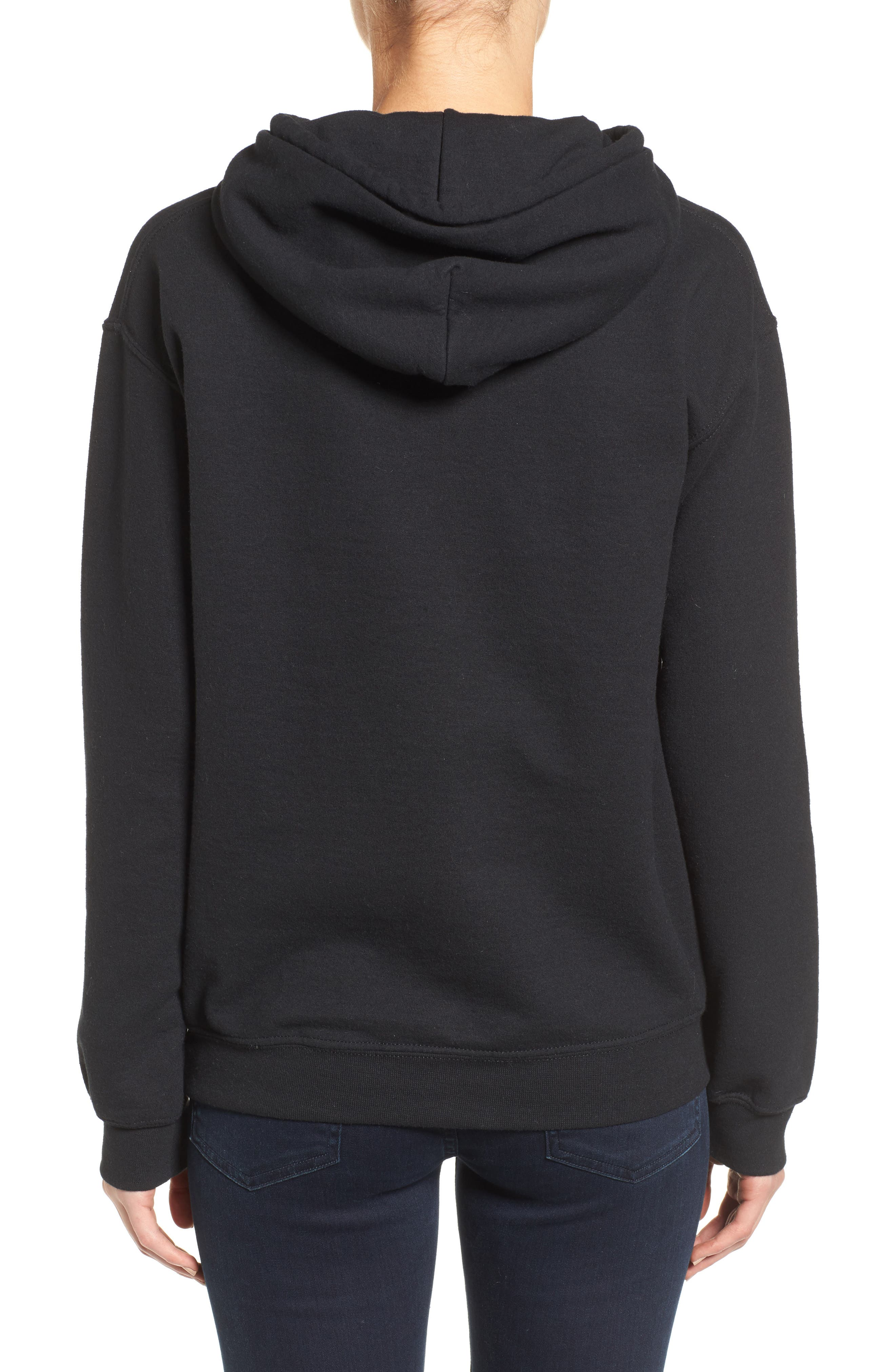 Girl Power Hoodie,                             Alternate thumbnail 3, color,