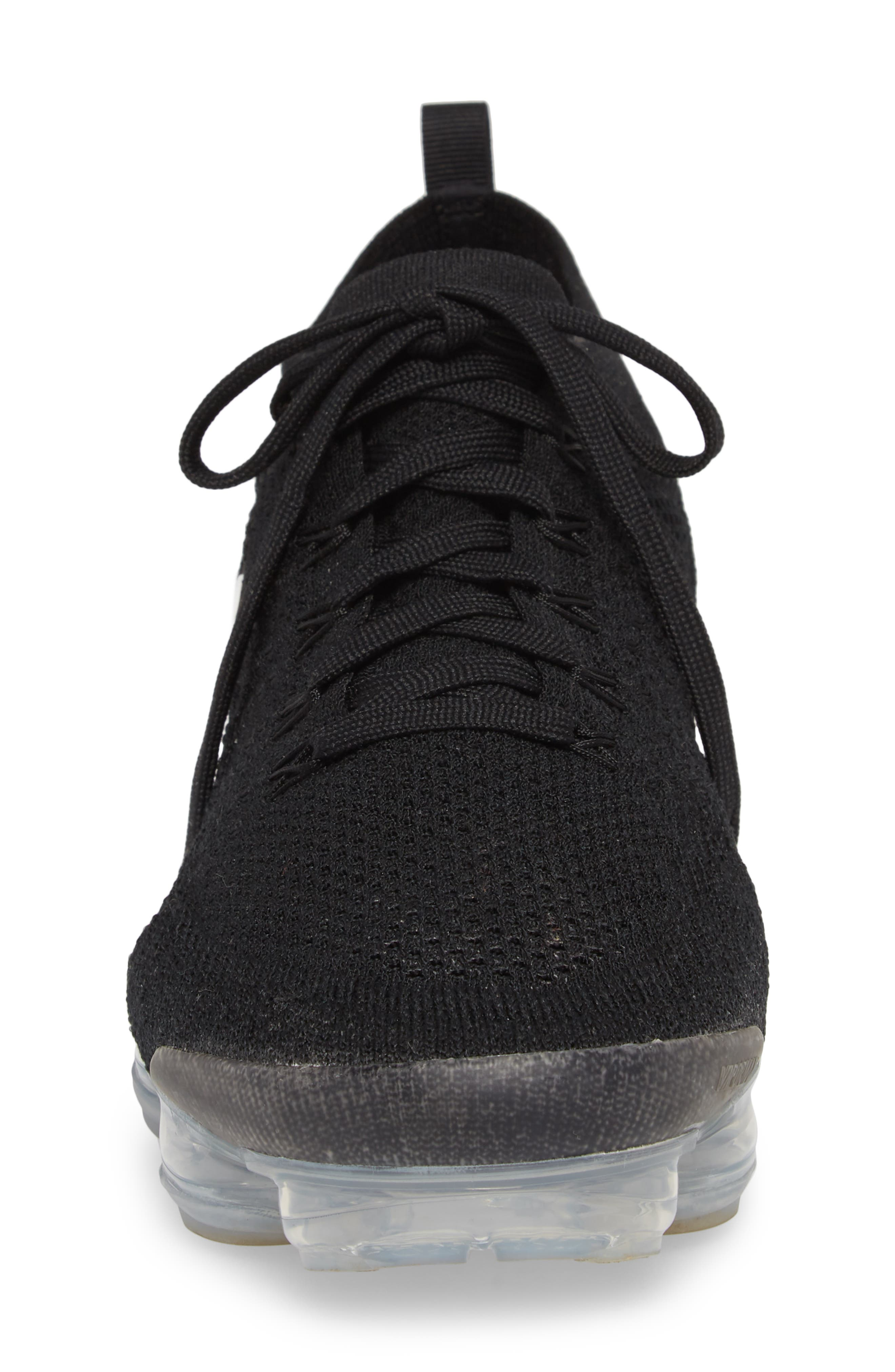 Air Vapormax Flyknit 2 Running Shoe,                             Alternate thumbnail 4, color,                             001