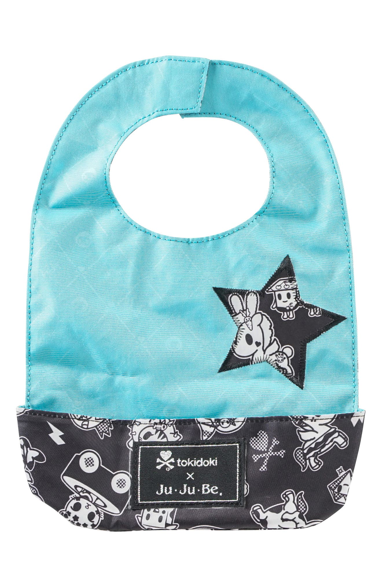 tokidoki x Ju-Ju-Be 'Be Neat' Reversible Bib,                         Main,                         color, 009