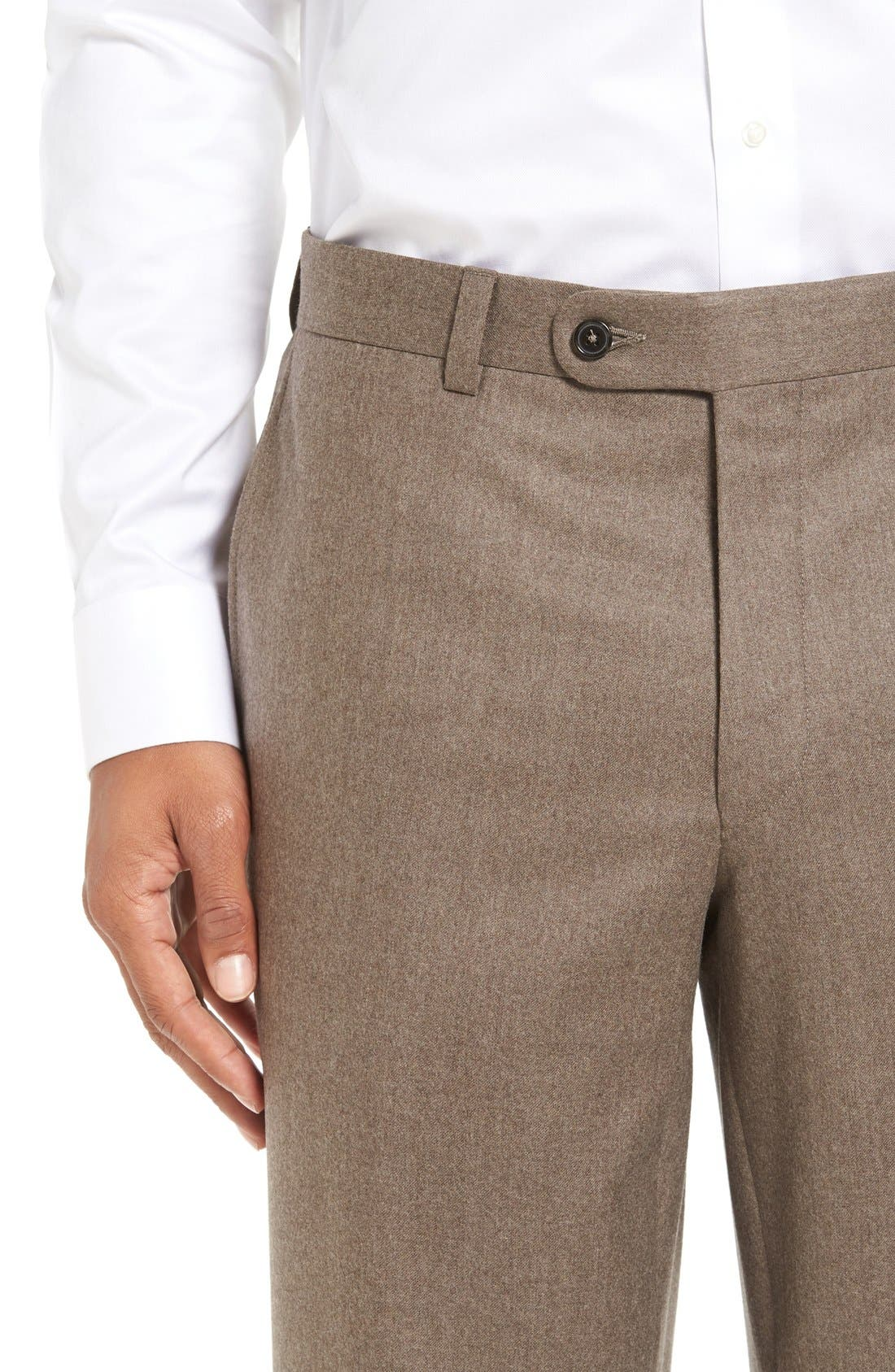 'Ryan' Classic Fit Trousers,                             Alternate thumbnail 14, color,