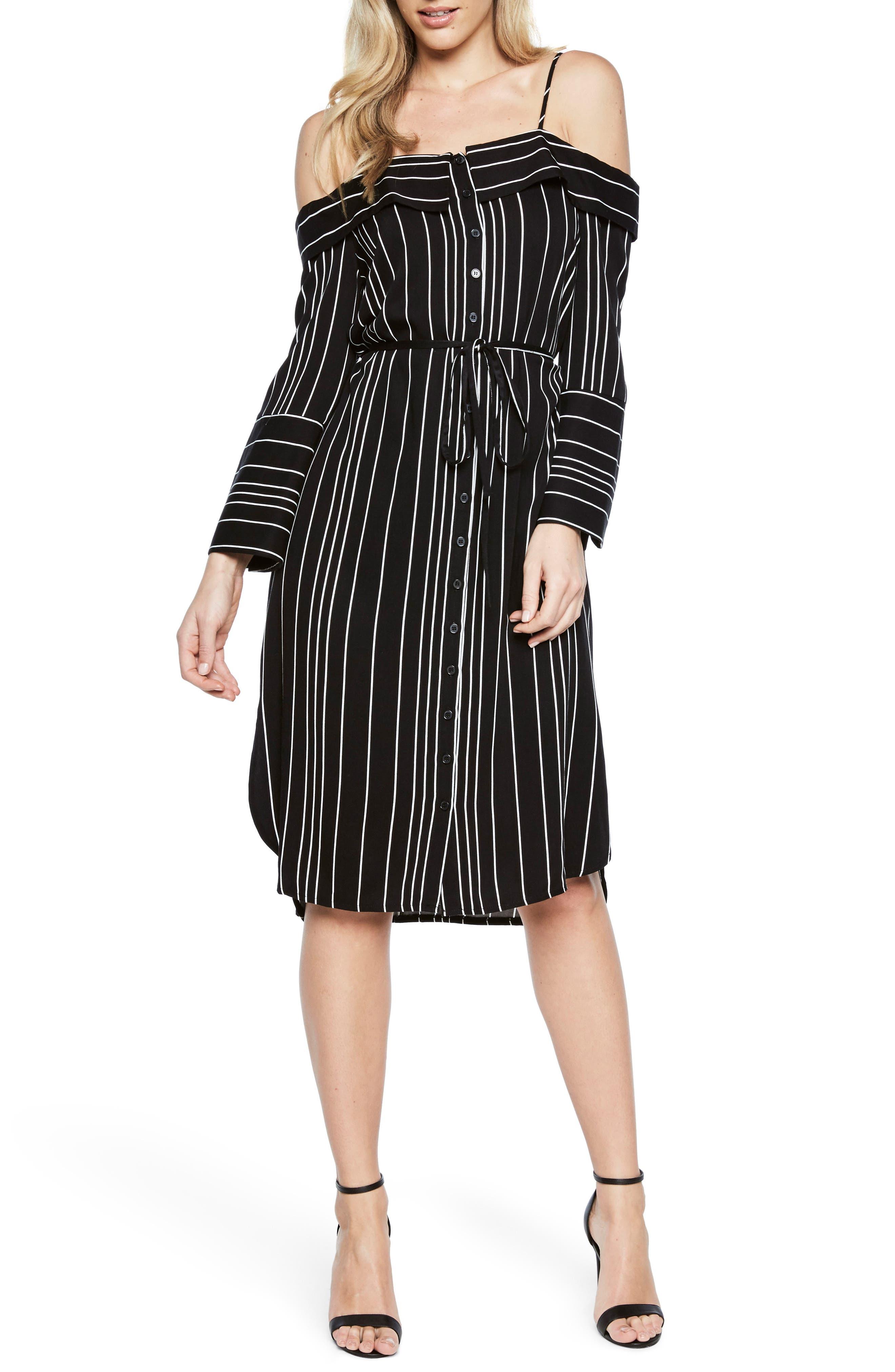 Effie Off the Shoulder Dress,                         Main,                         color, 009