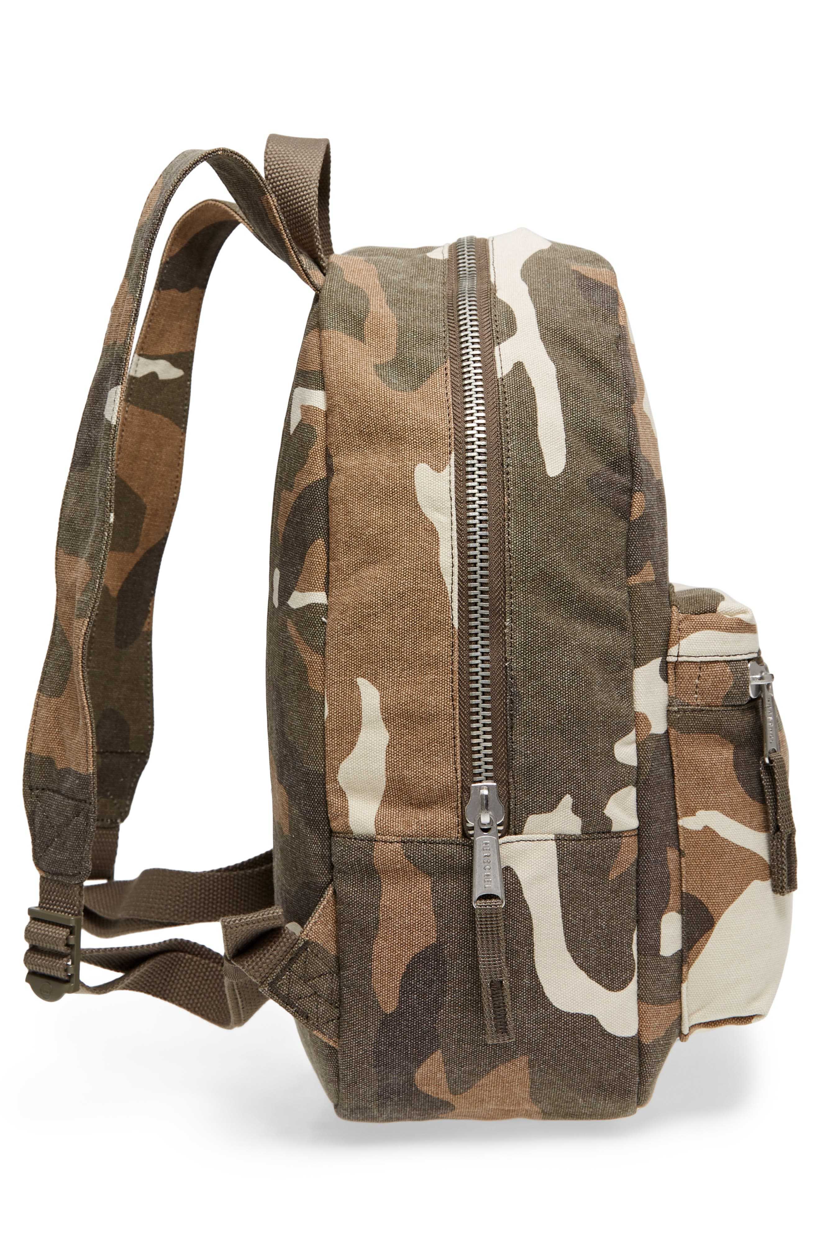 X-Small Grove Cotton Canvas Backpack,                             Alternate thumbnail 19, color,