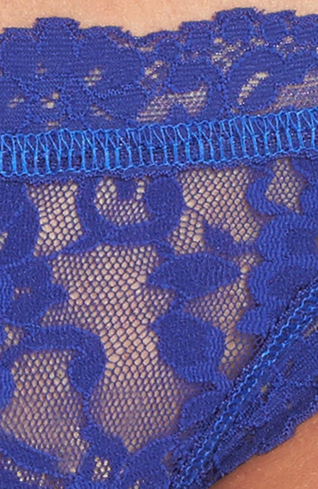 'Signature Lace' Brazilian Bikini,                             Alternate thumbnail 105, color,