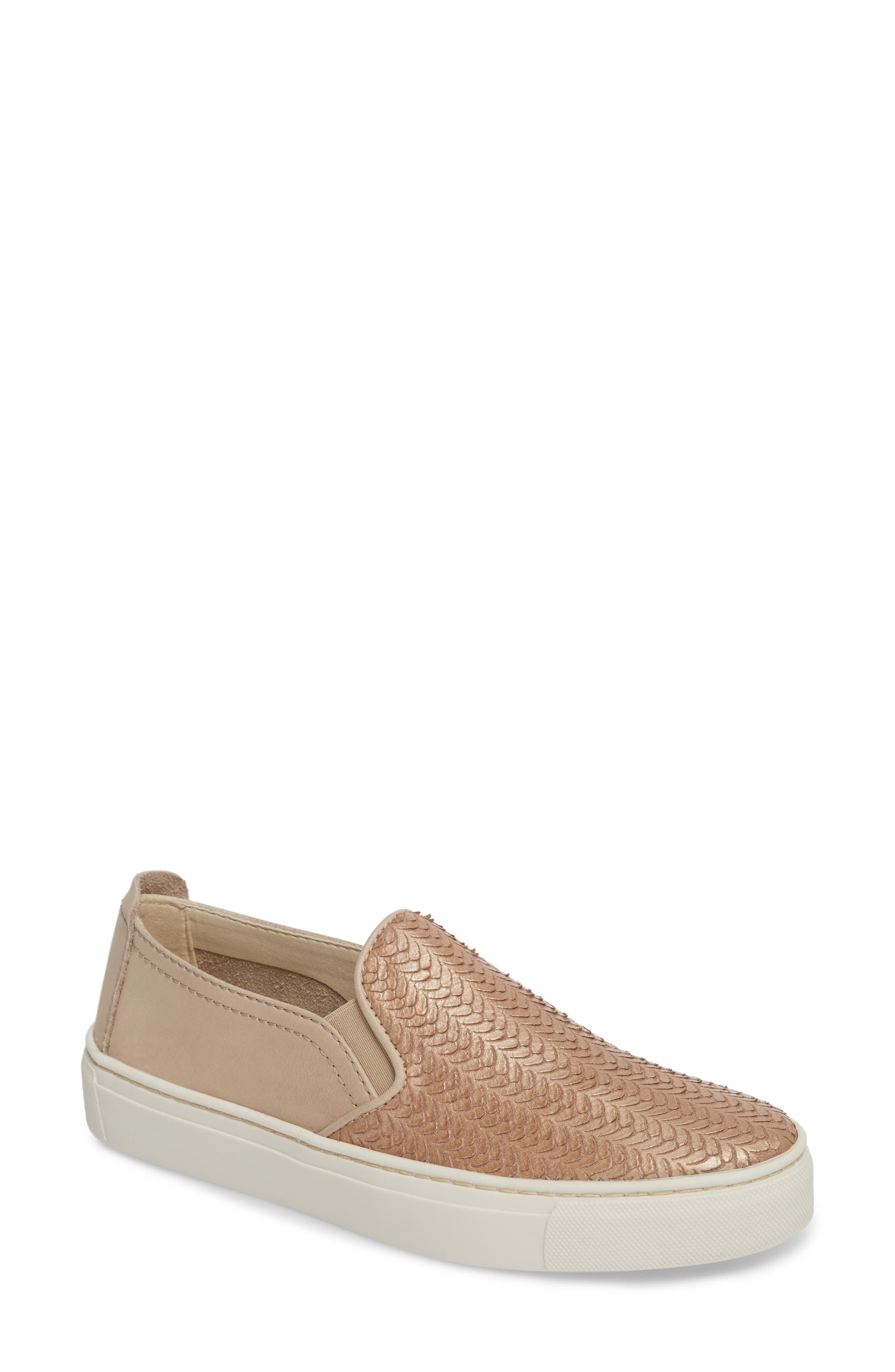 'Sneak Name' Sneaker,                         Main,                         color, GOLD/ DUNE LEATHER