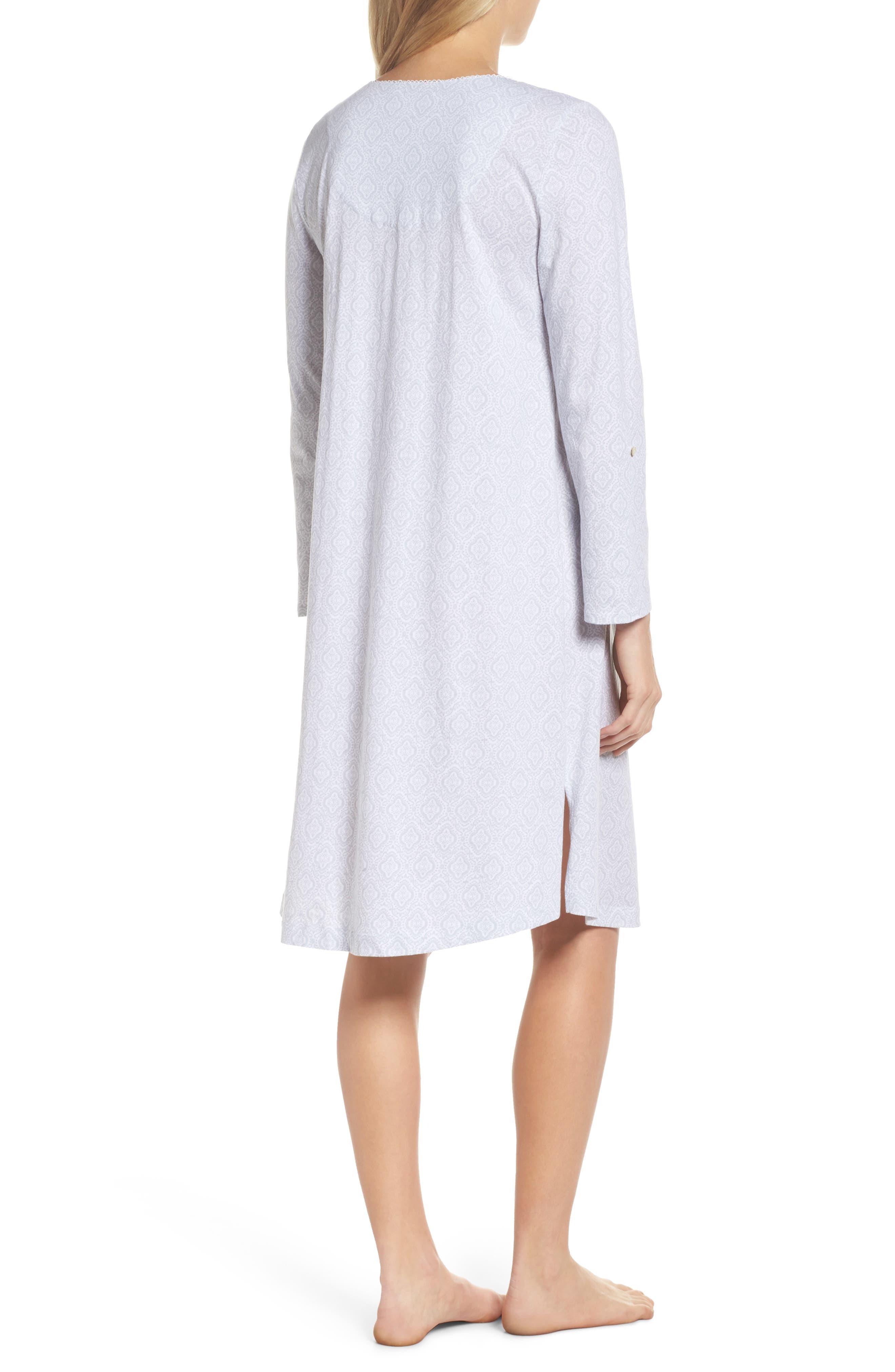 Cotton Jersey Waltz Nightgown,                             Alternate thumbnail 2, color,
