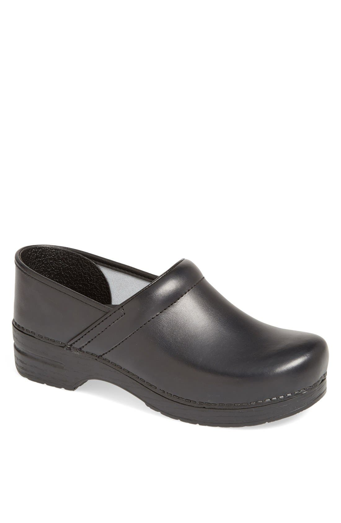 DANSKO,                             'Professional' Slip-On,                             Main thumbnail 1, color,                             BLACK BOX